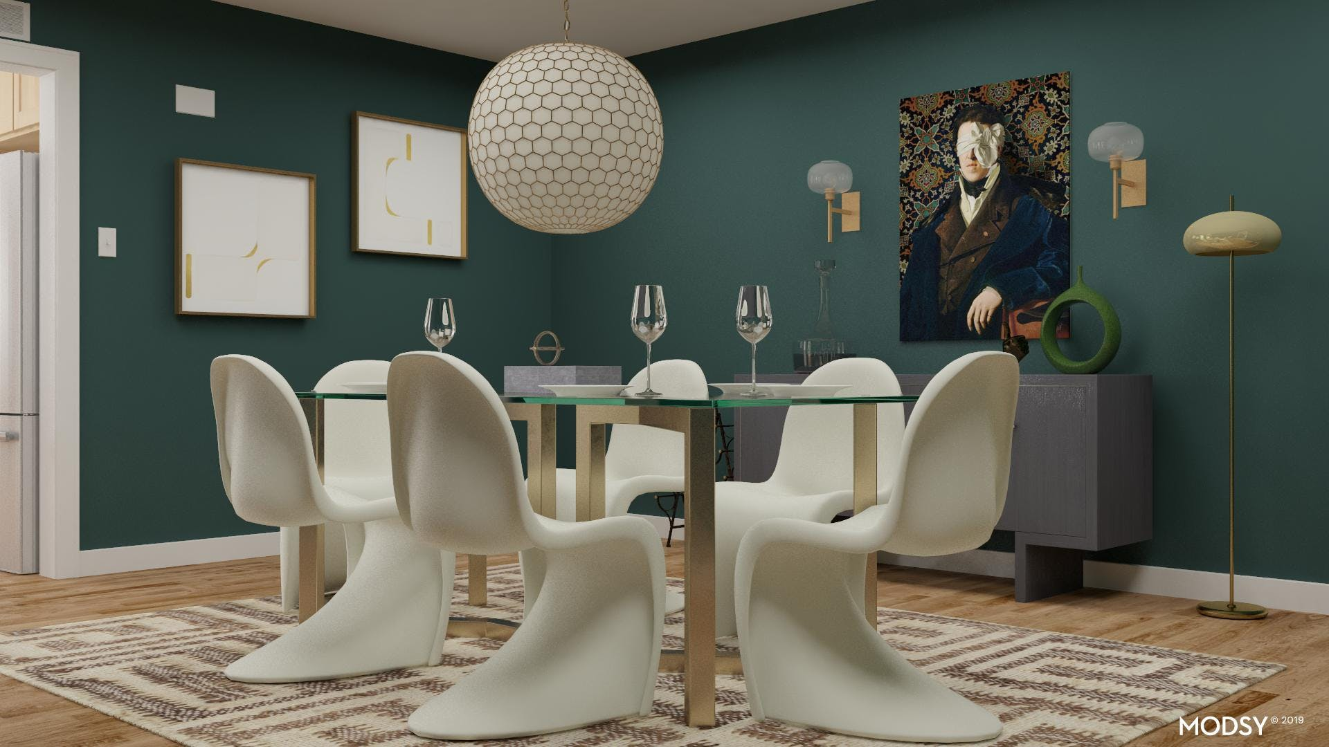 Bold Styling: Glam Dining