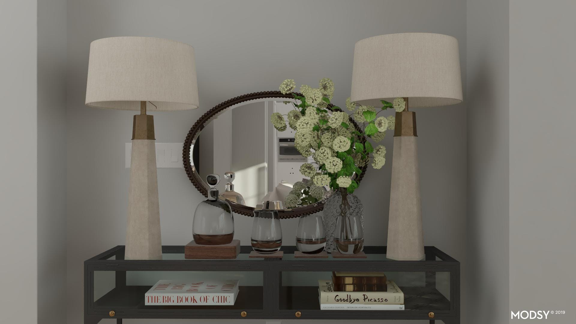 Styling a Console for Comfort and Beauty
