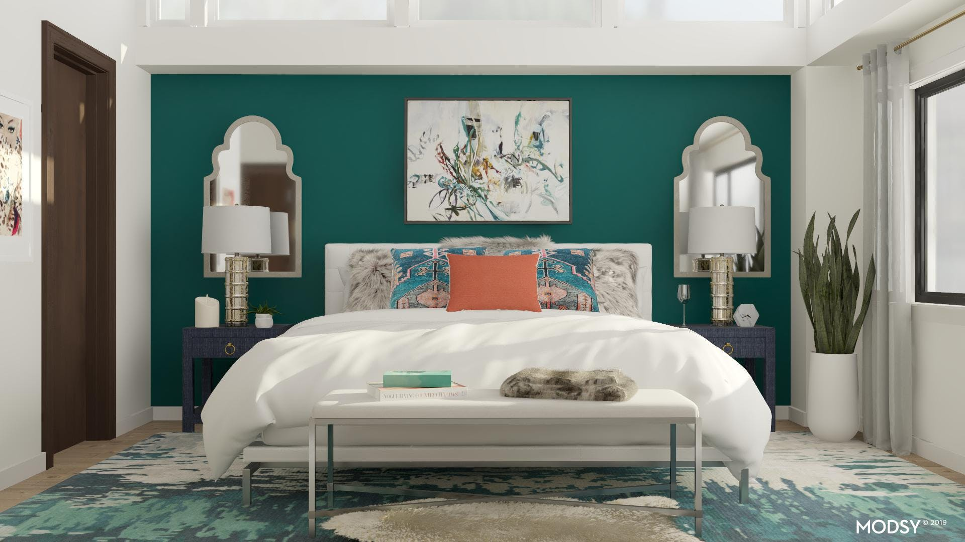 Bright and Glorious Master Bedroom