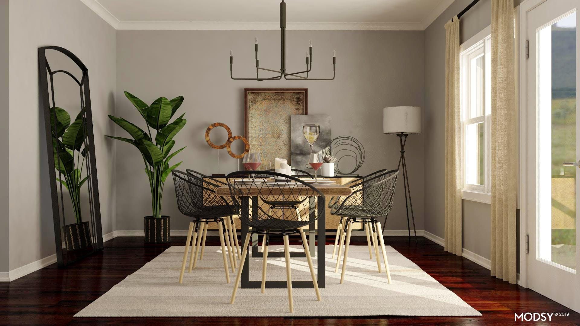 Industrial and Neutral Dining