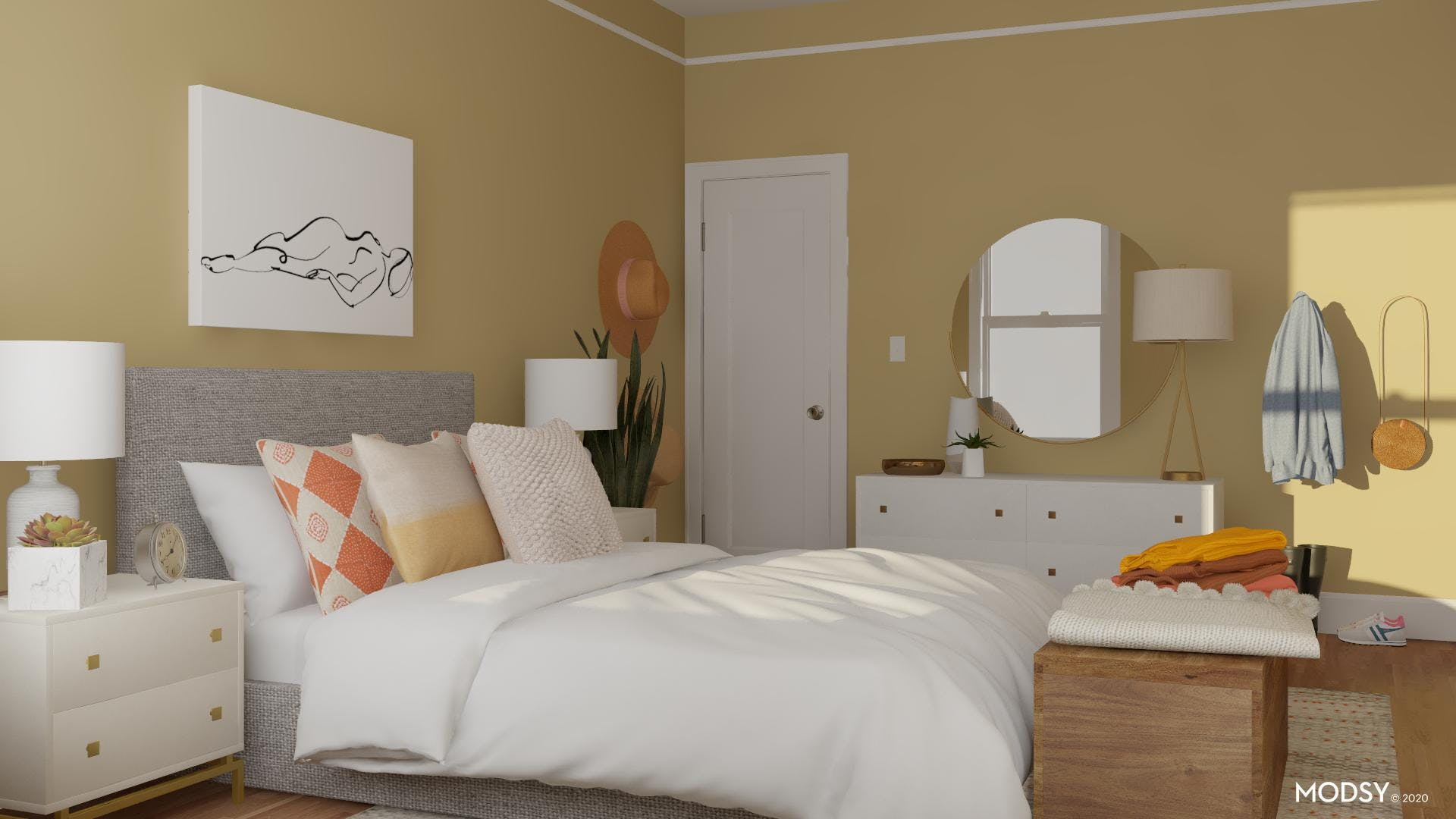 Small Bedroom With Big Design