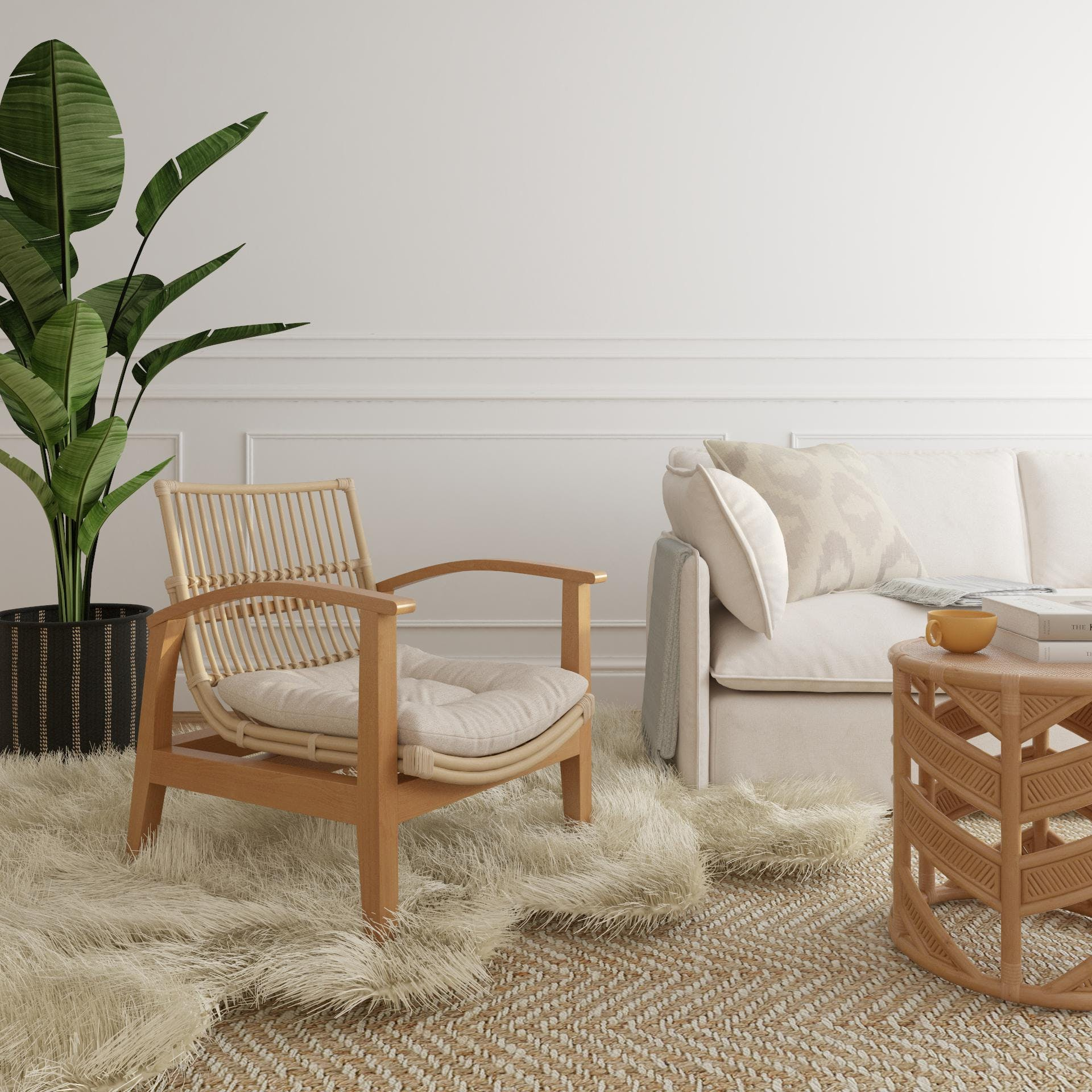 A Nature-Inspired Living Room