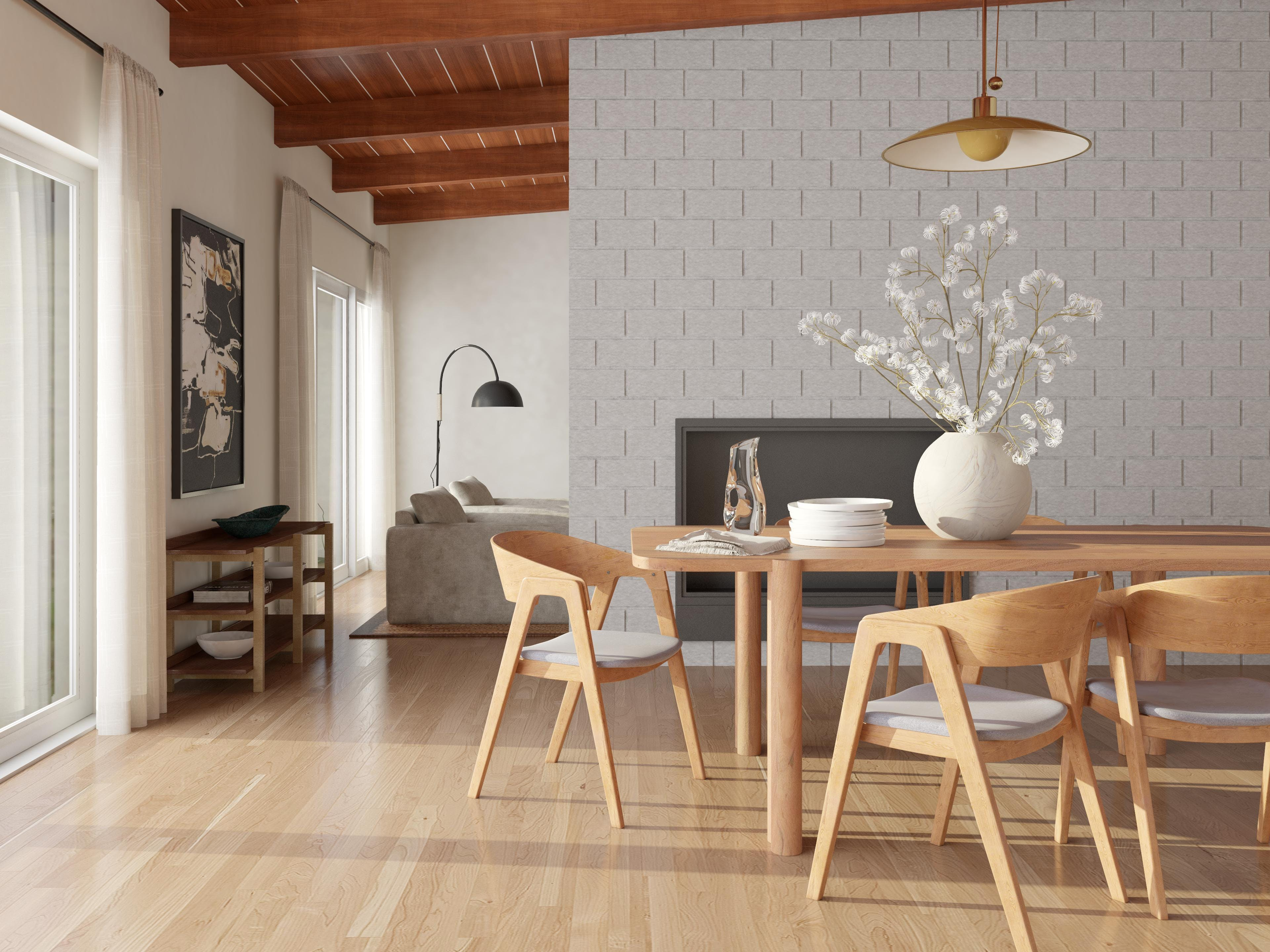 Cool, Calm And Collected Dining Room