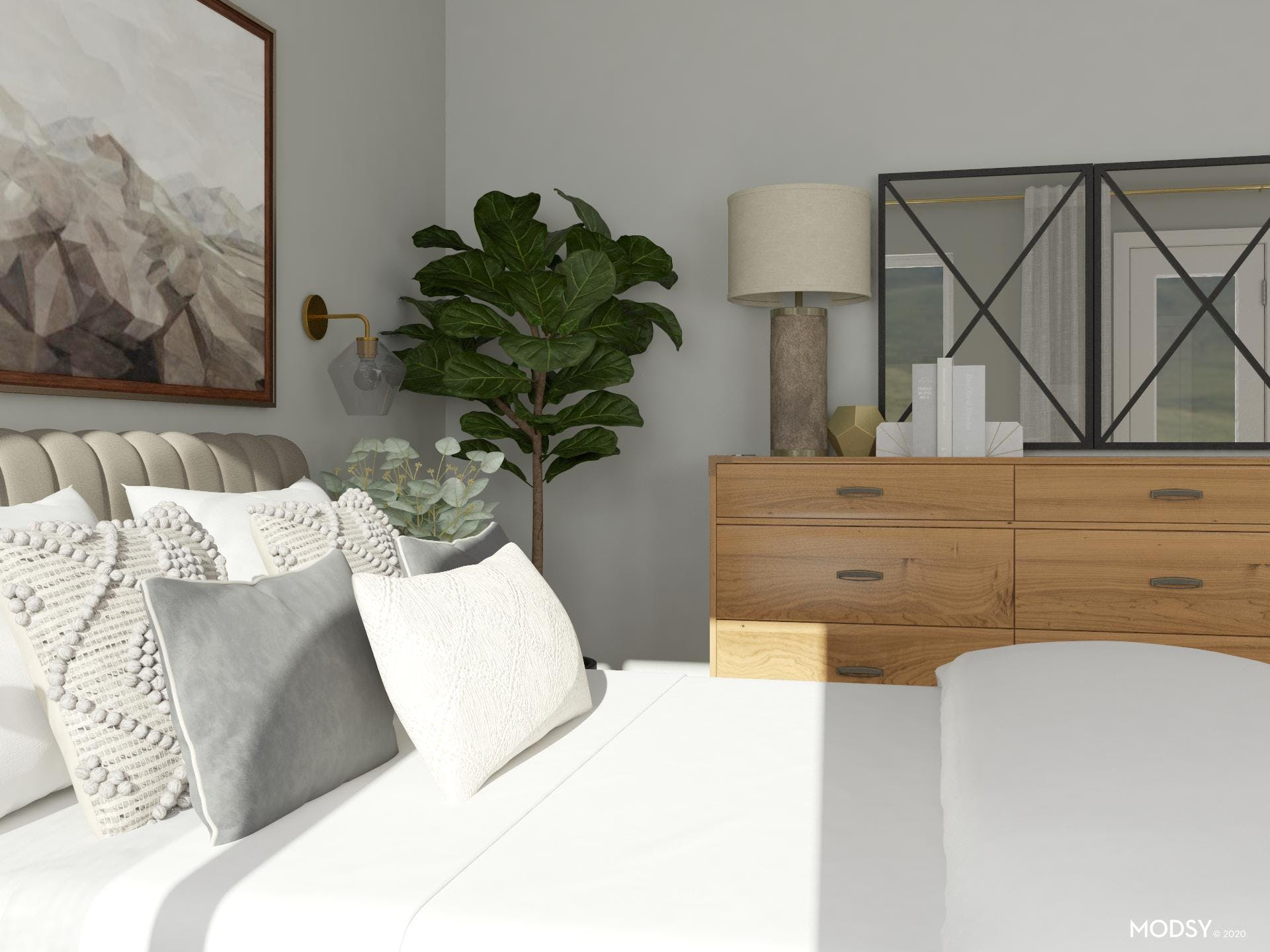 Sophisticated And Stylish Master Bedroom