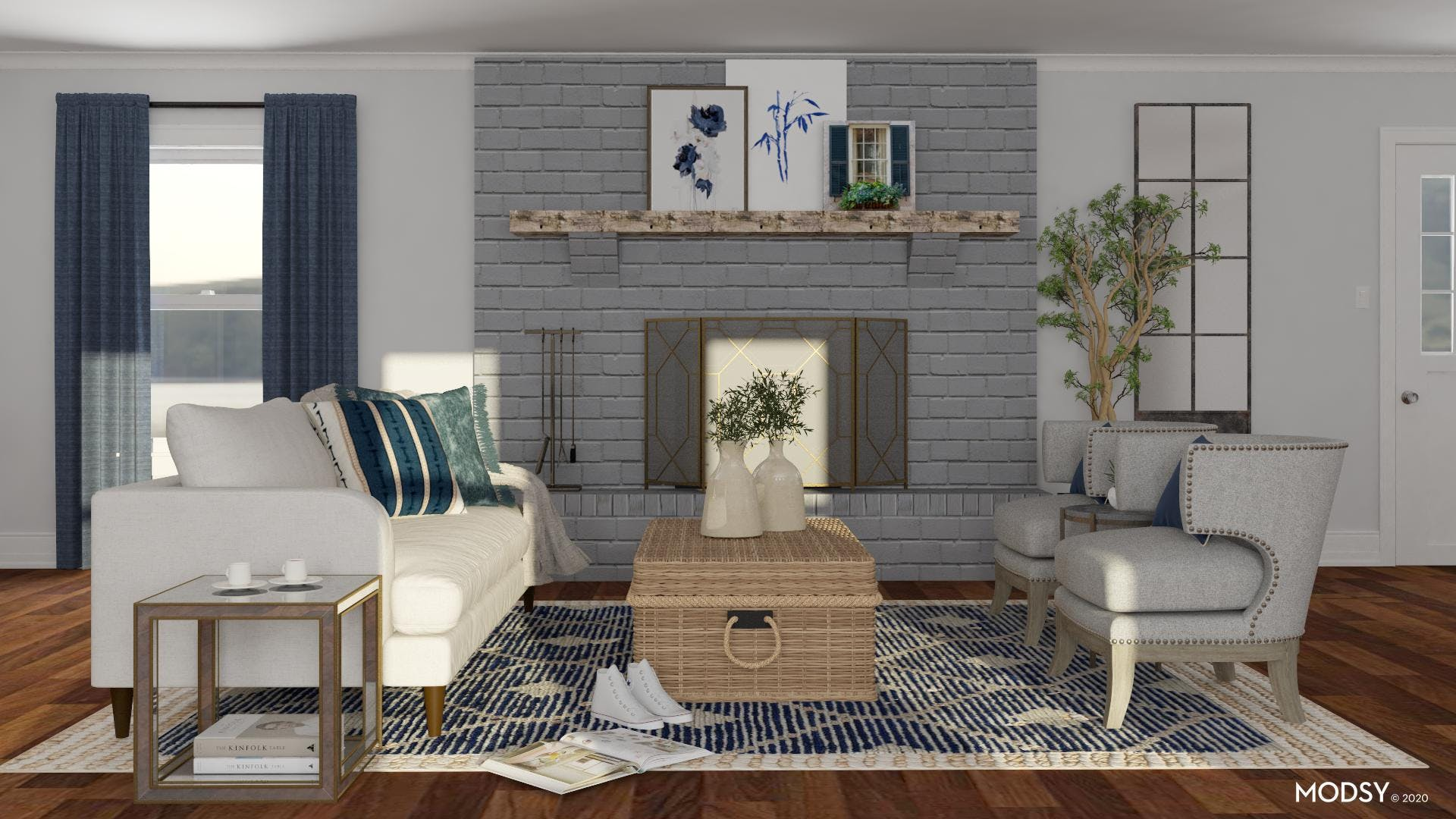 Blue Hues In Your Living Room