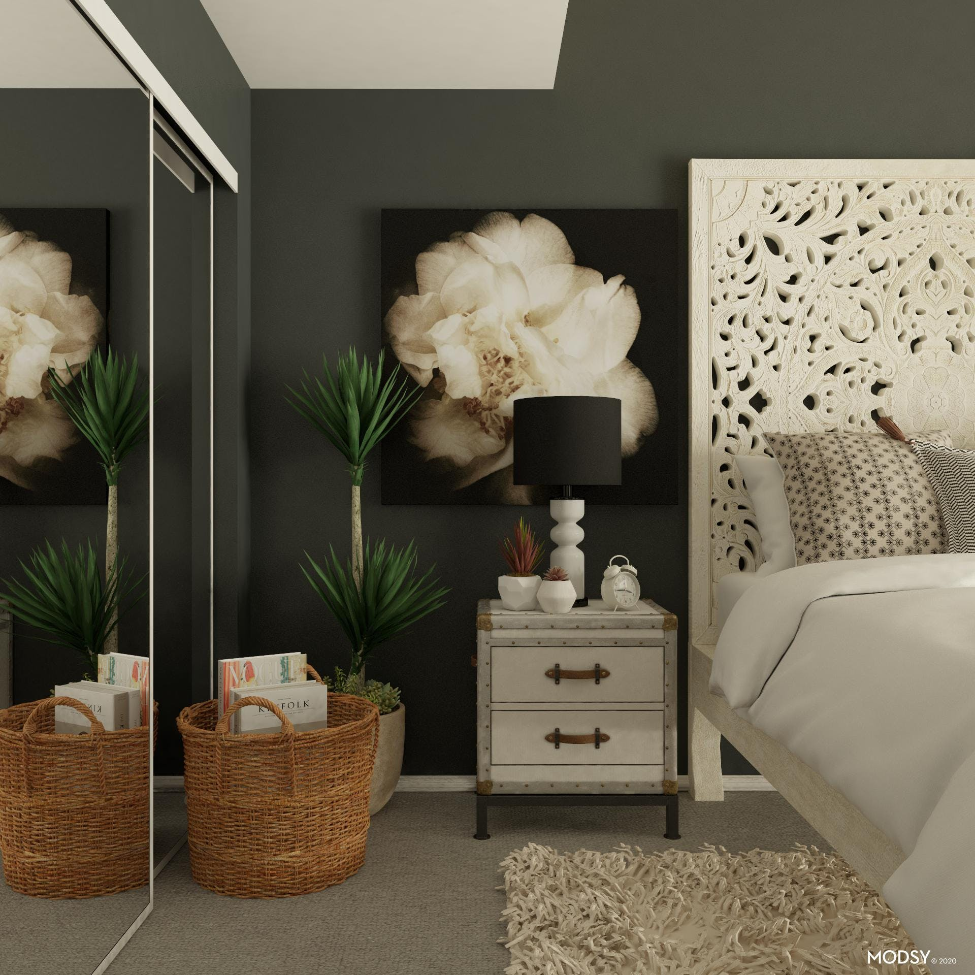 Bold And Beautiful: Rustic Bedroom