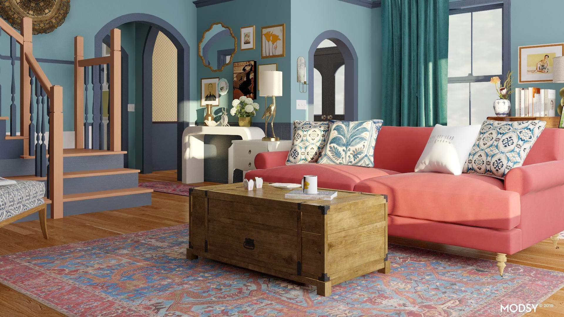 Lorelei Gilmore's Living Room