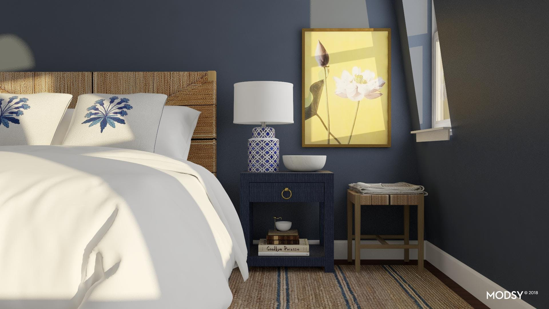 A Relaxing, Texture-Filled Bedroom