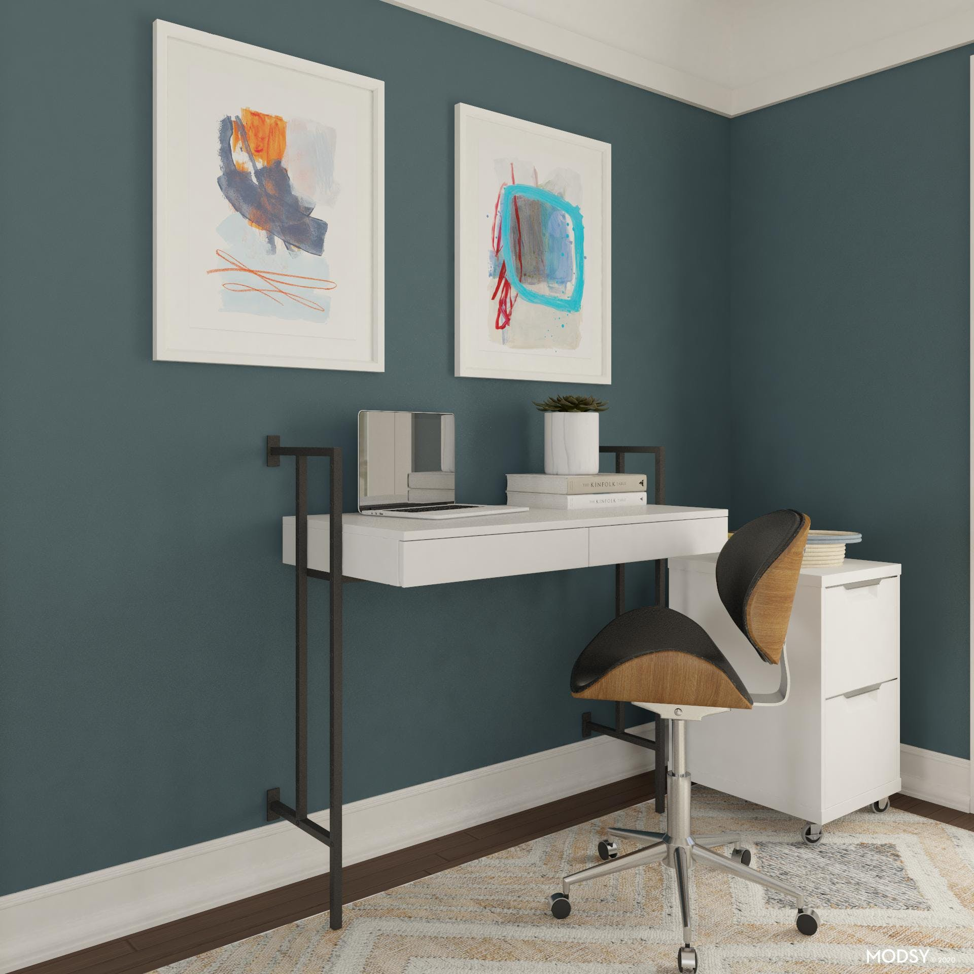 Modern Mounted Desk