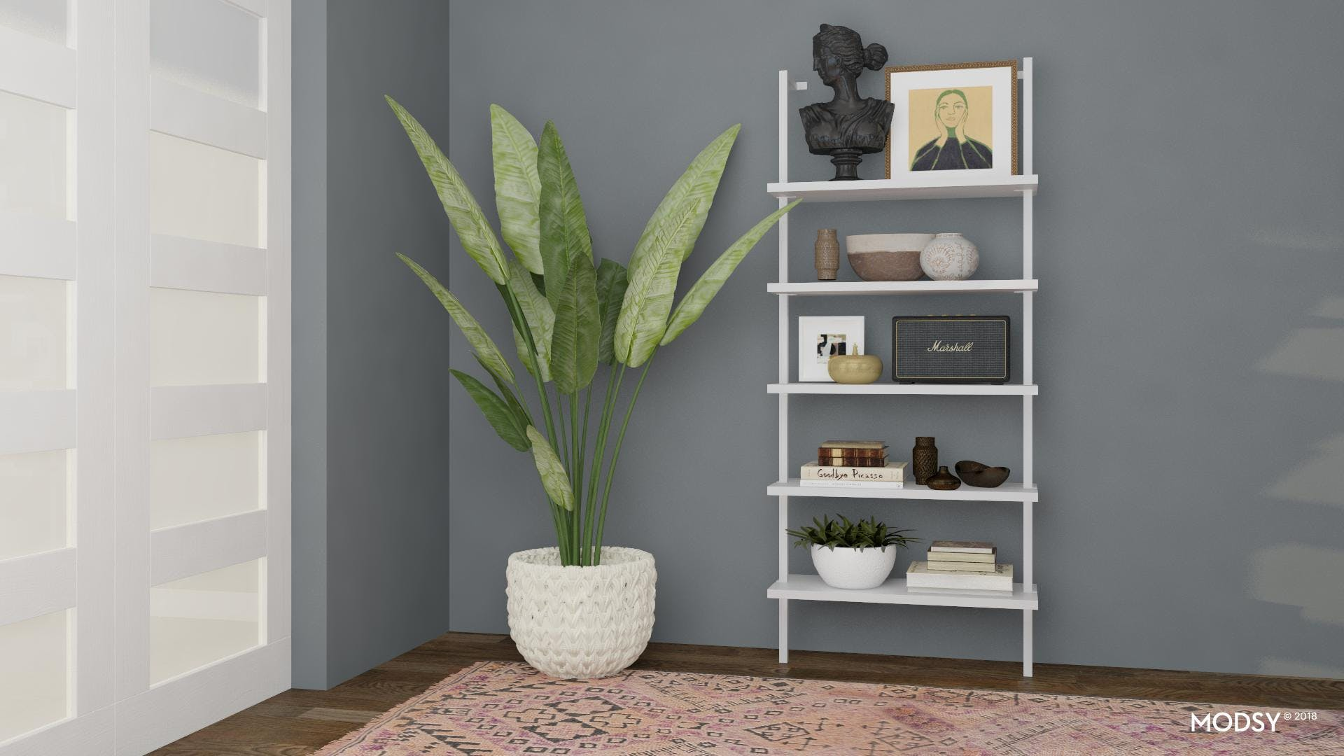 Eclectic Bookcase Styling Ideas