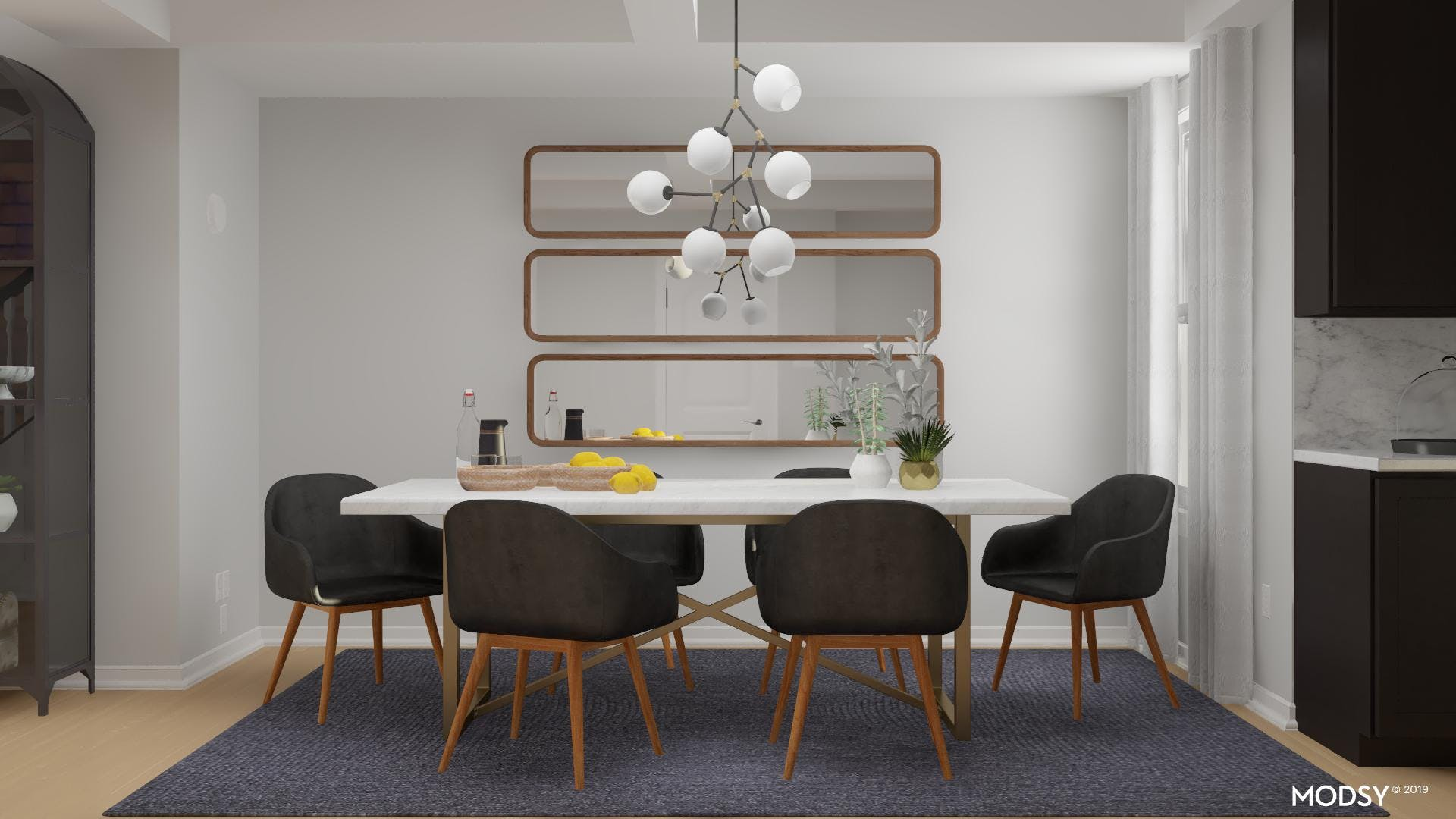 Elevate With Mirrors: Modern Dining Room
