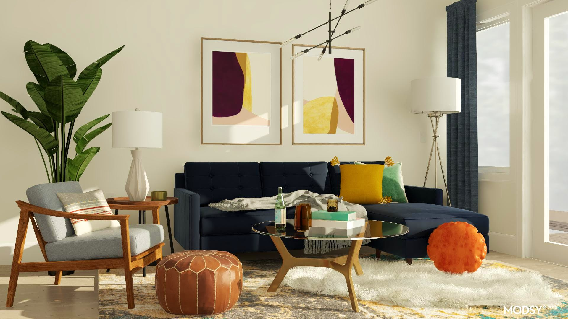 Jewel Tones Design Ideas and Styles from Modsy Designers