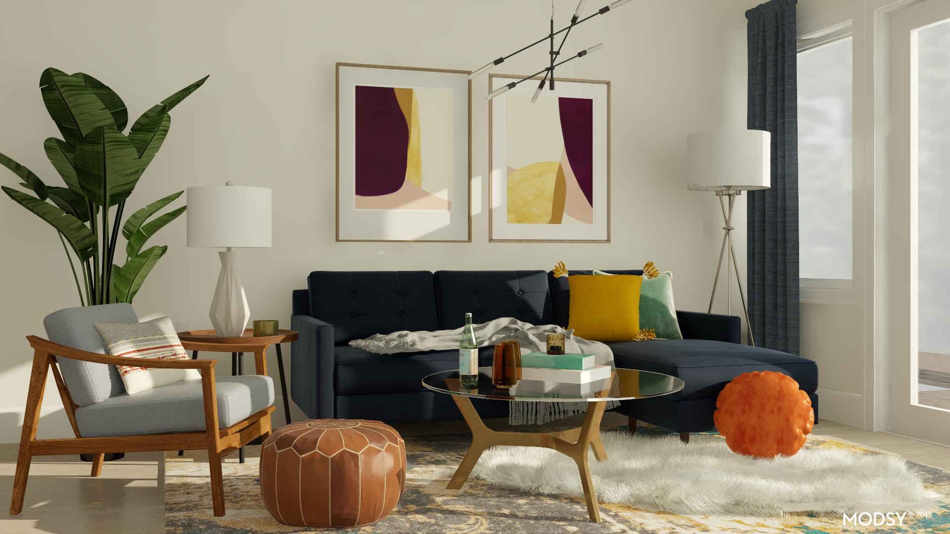 Faux Fur Rug Design Ideas And Styles From Modsy Designers
