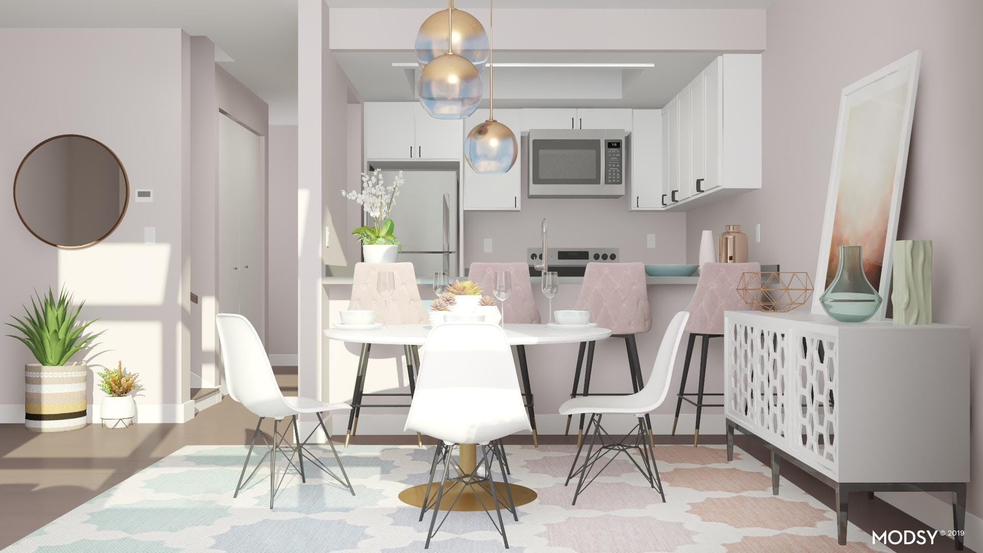 Coordinating Chairs: Dining Room