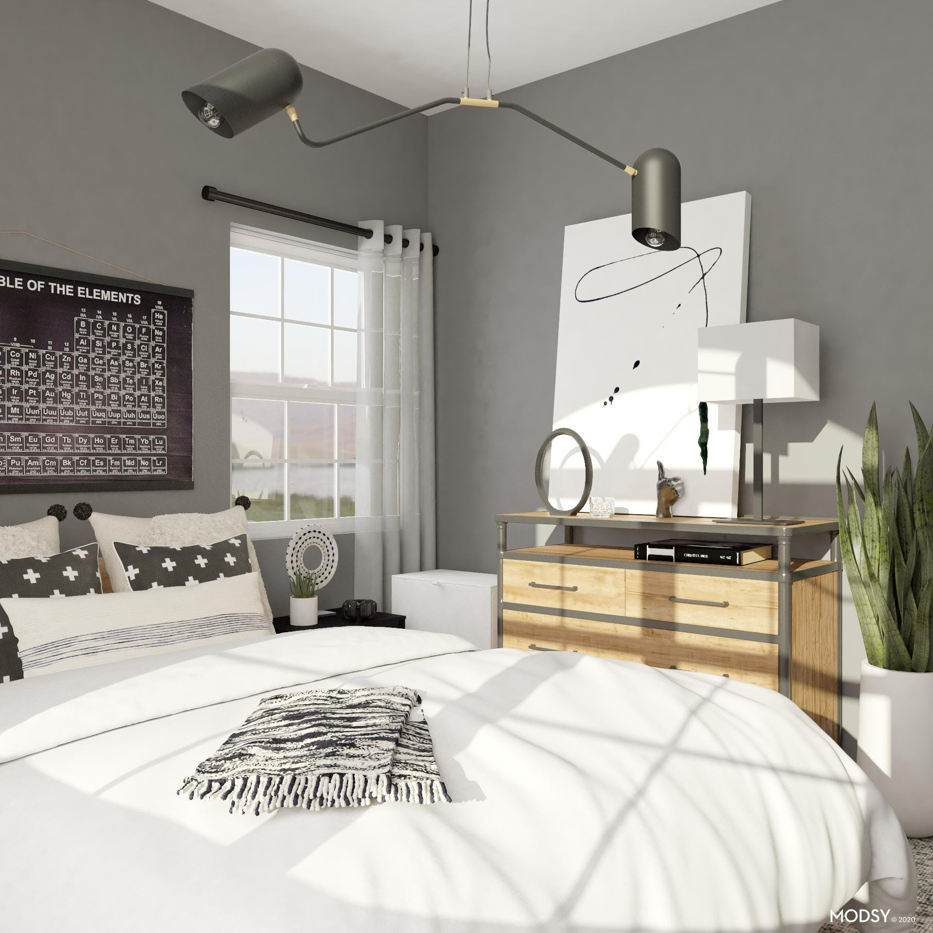 Industrial Details: Teen Bedroom