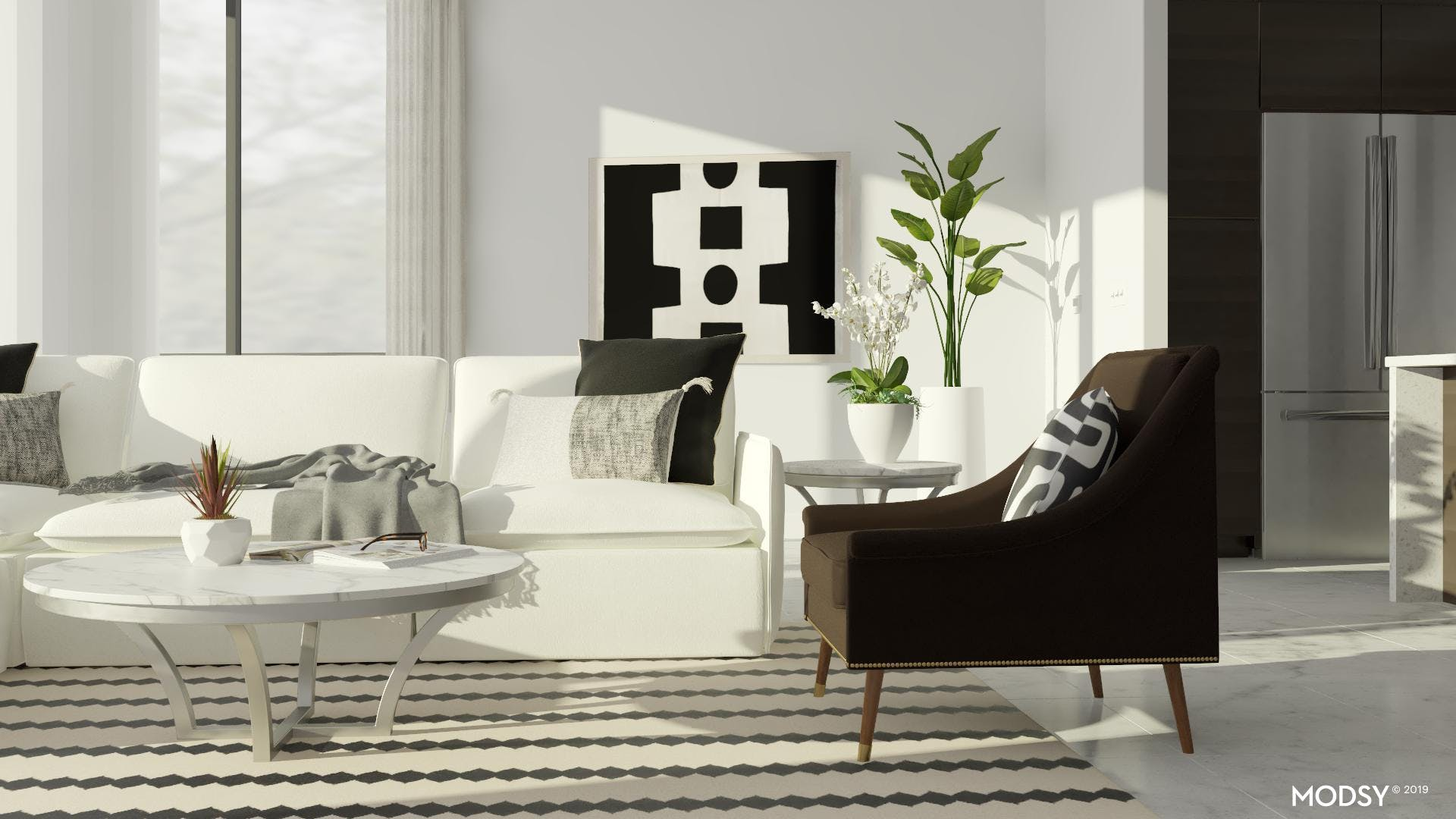 Contemporary Accent Seating