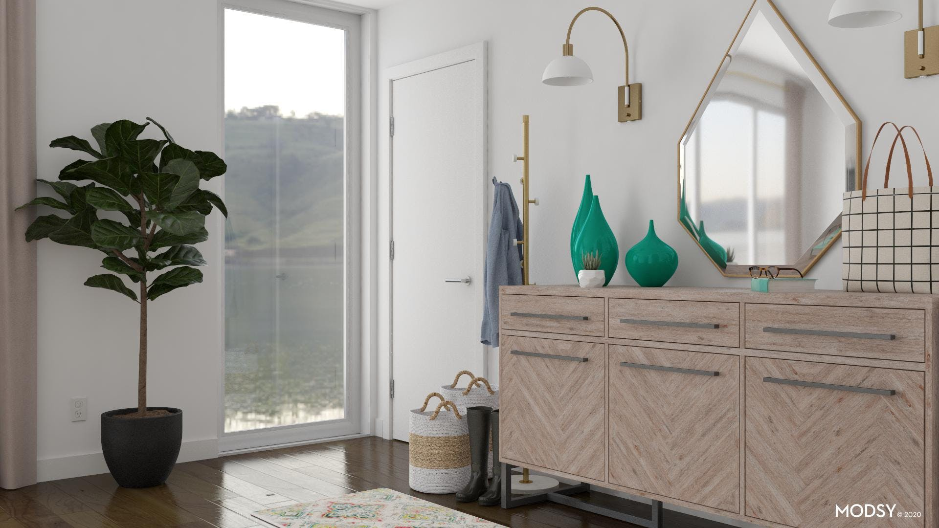 Bags And Basket Storage