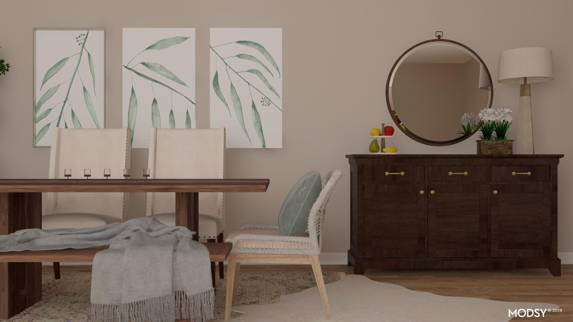 All About Balance: Dining Room