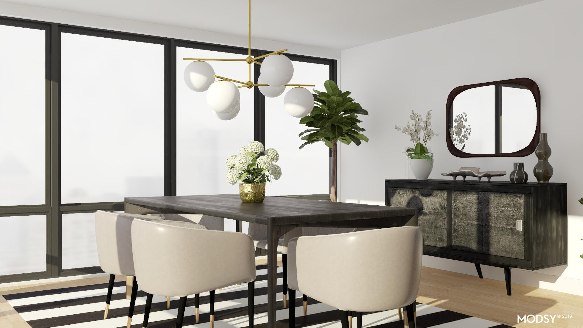 Mid-Century Dining in Style