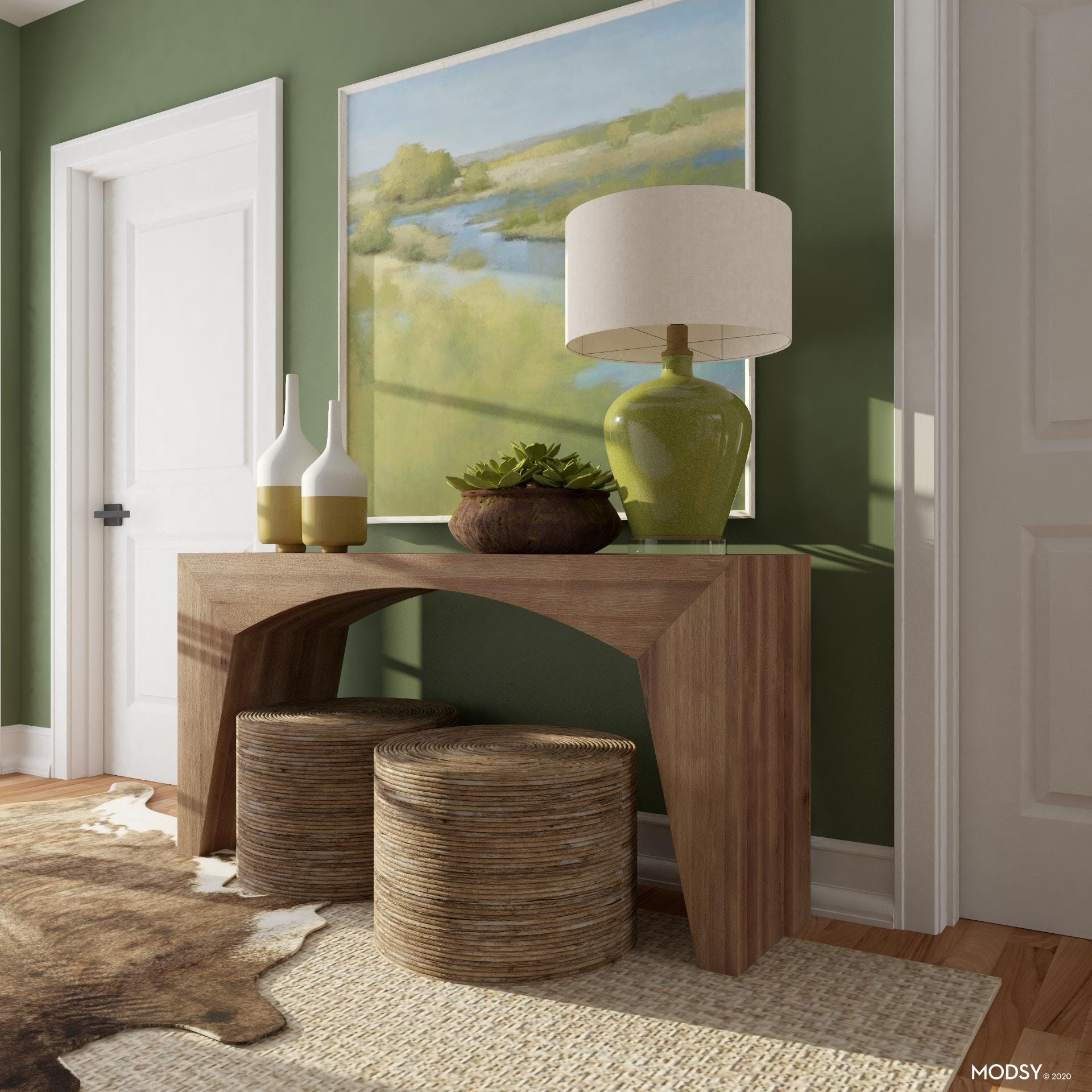 Balancing Visual Weight: Entry Vignette
