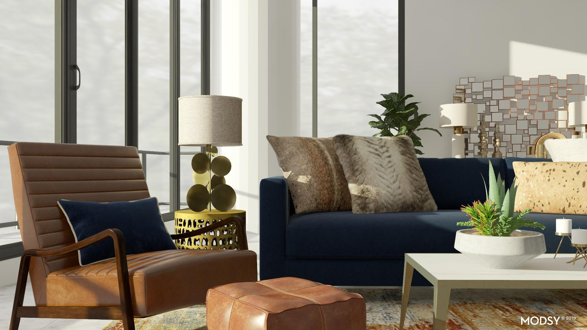 Luxe Materials: Glam Living