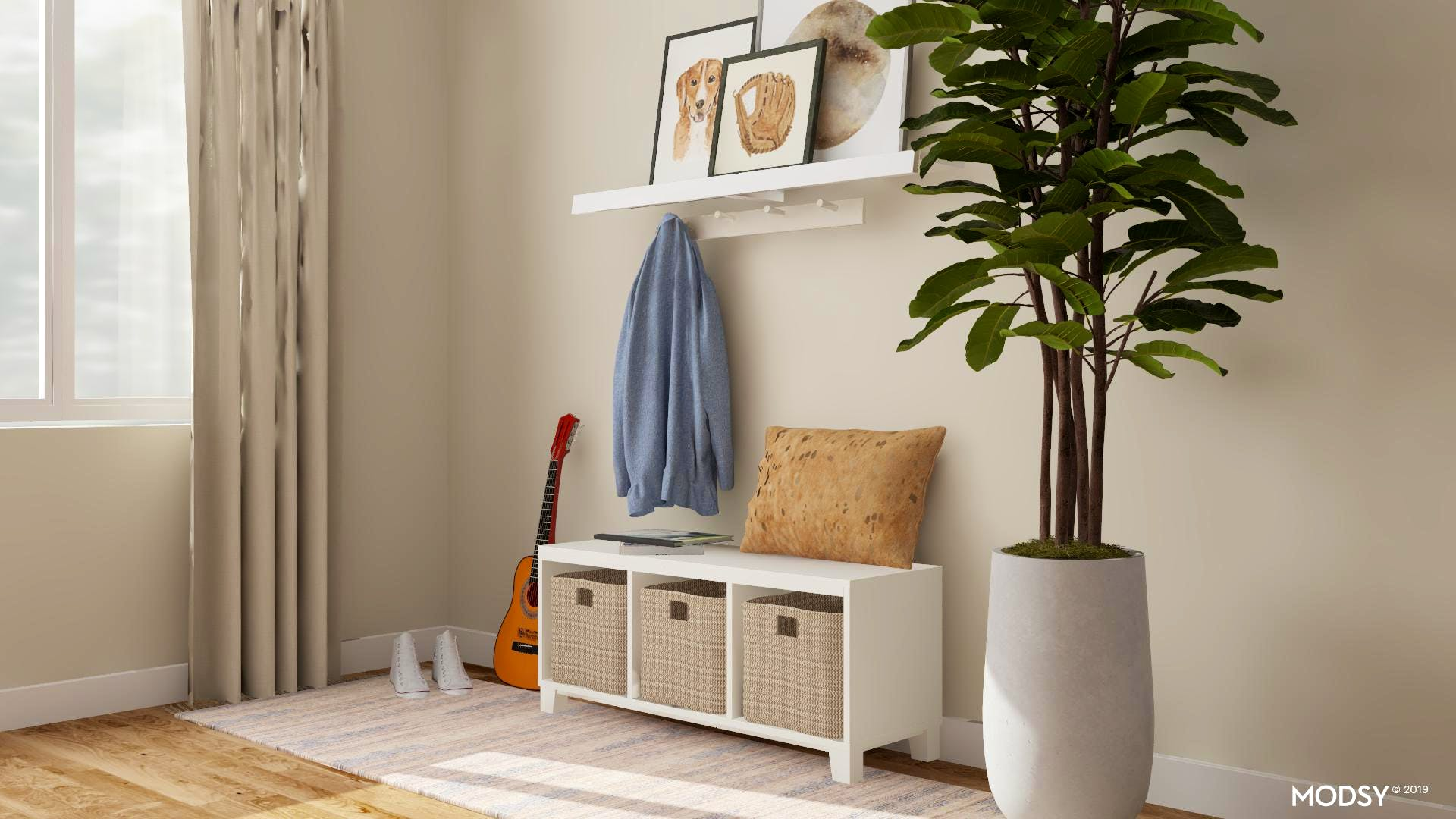 Modern Entry Storage Solutions