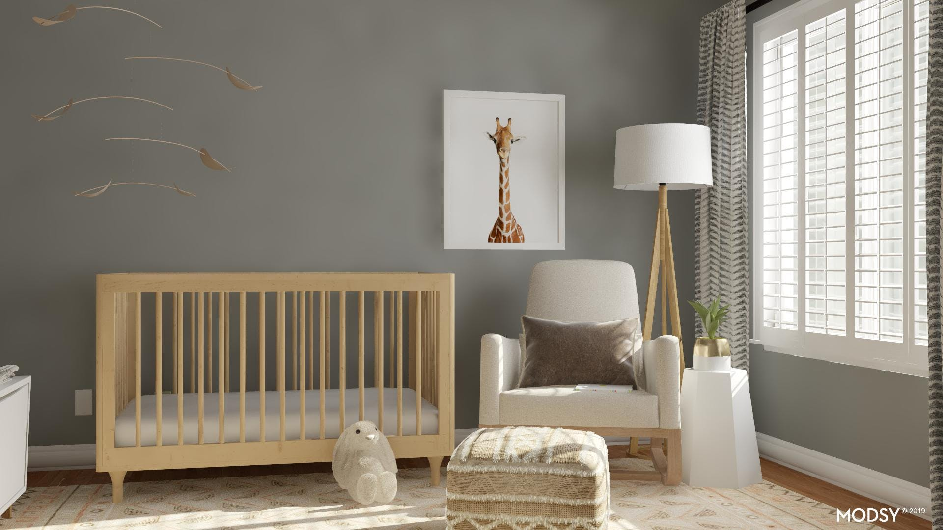 A Neutral Nursery with Warmth