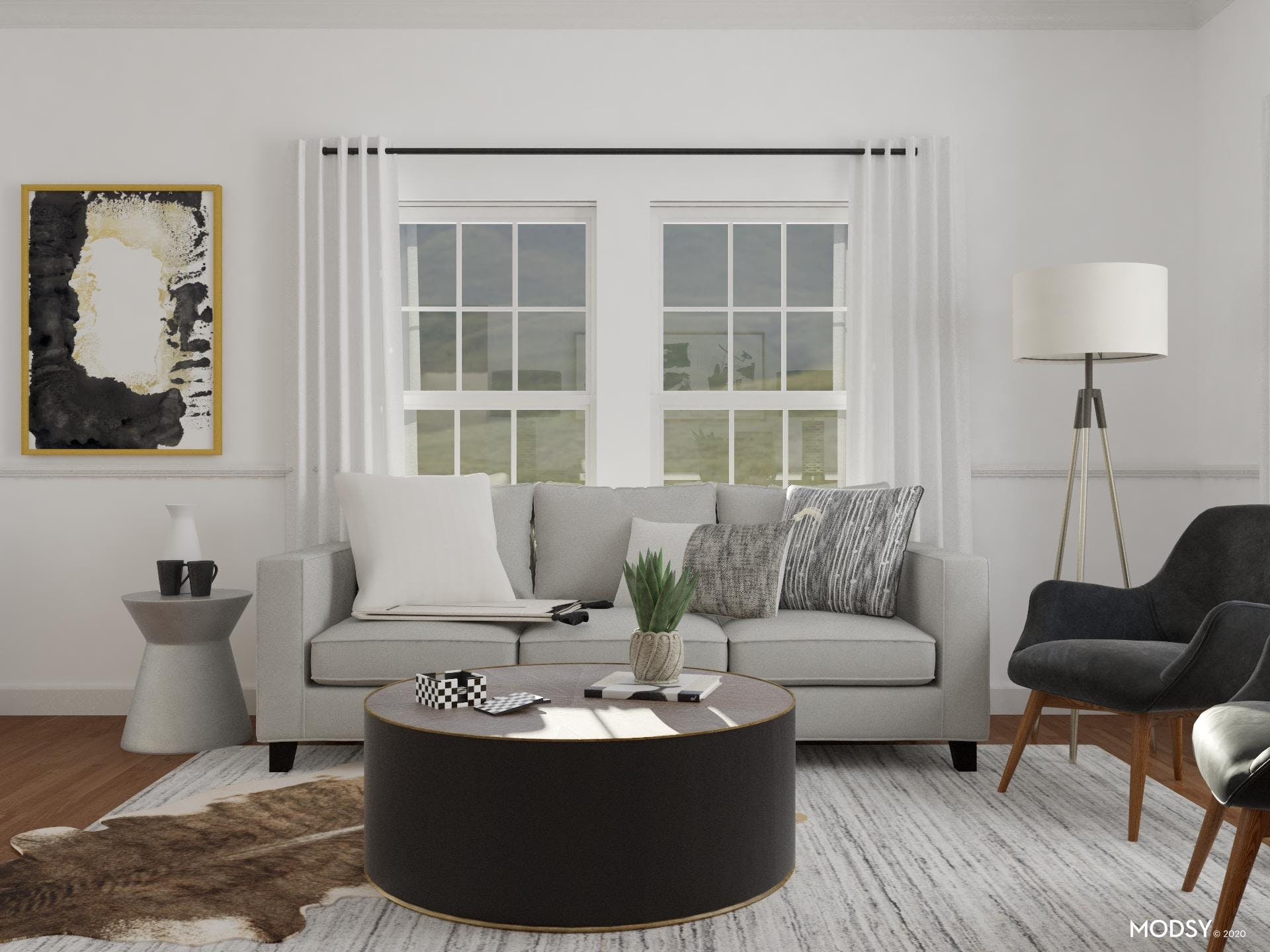 Be Bold: Contemporary Black And White