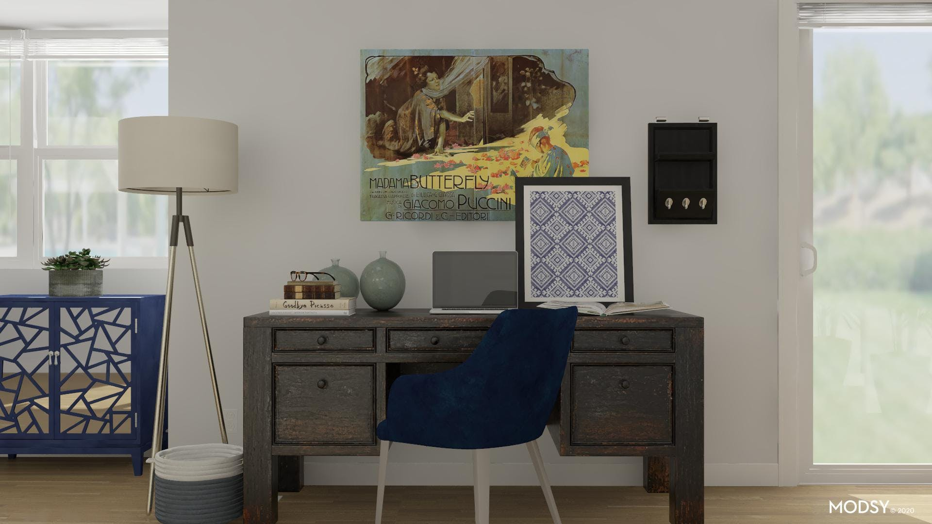 Lounge Space: Office