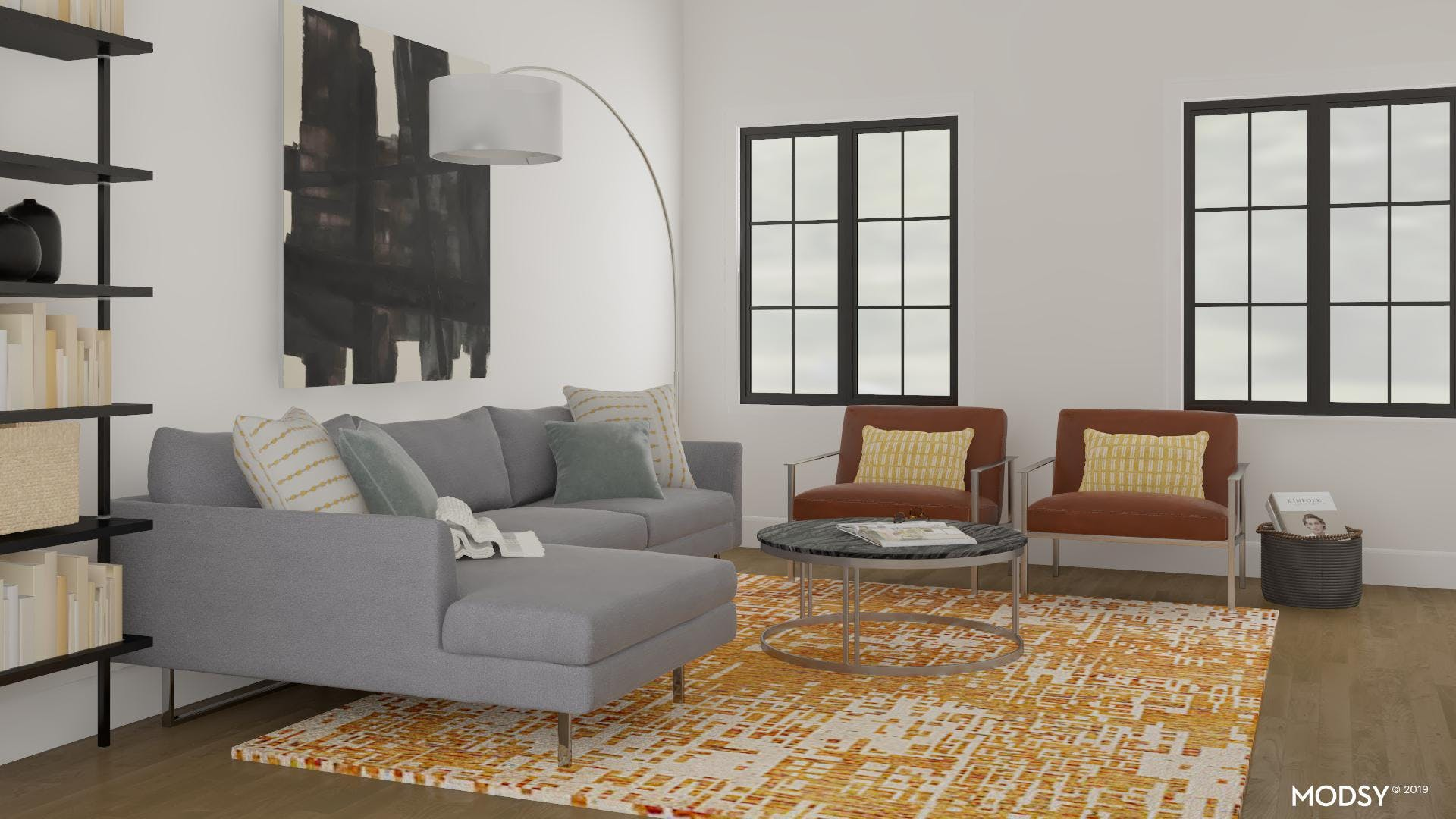 Earth Toned Accent Chairs
