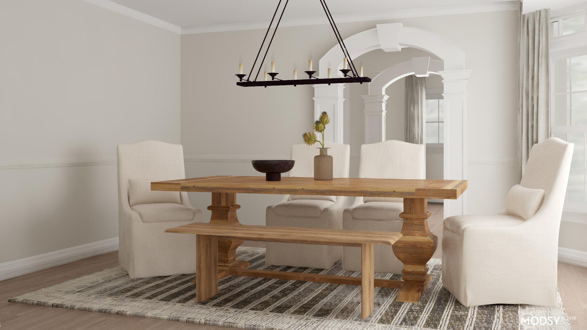 Rustic Dining Seating Options