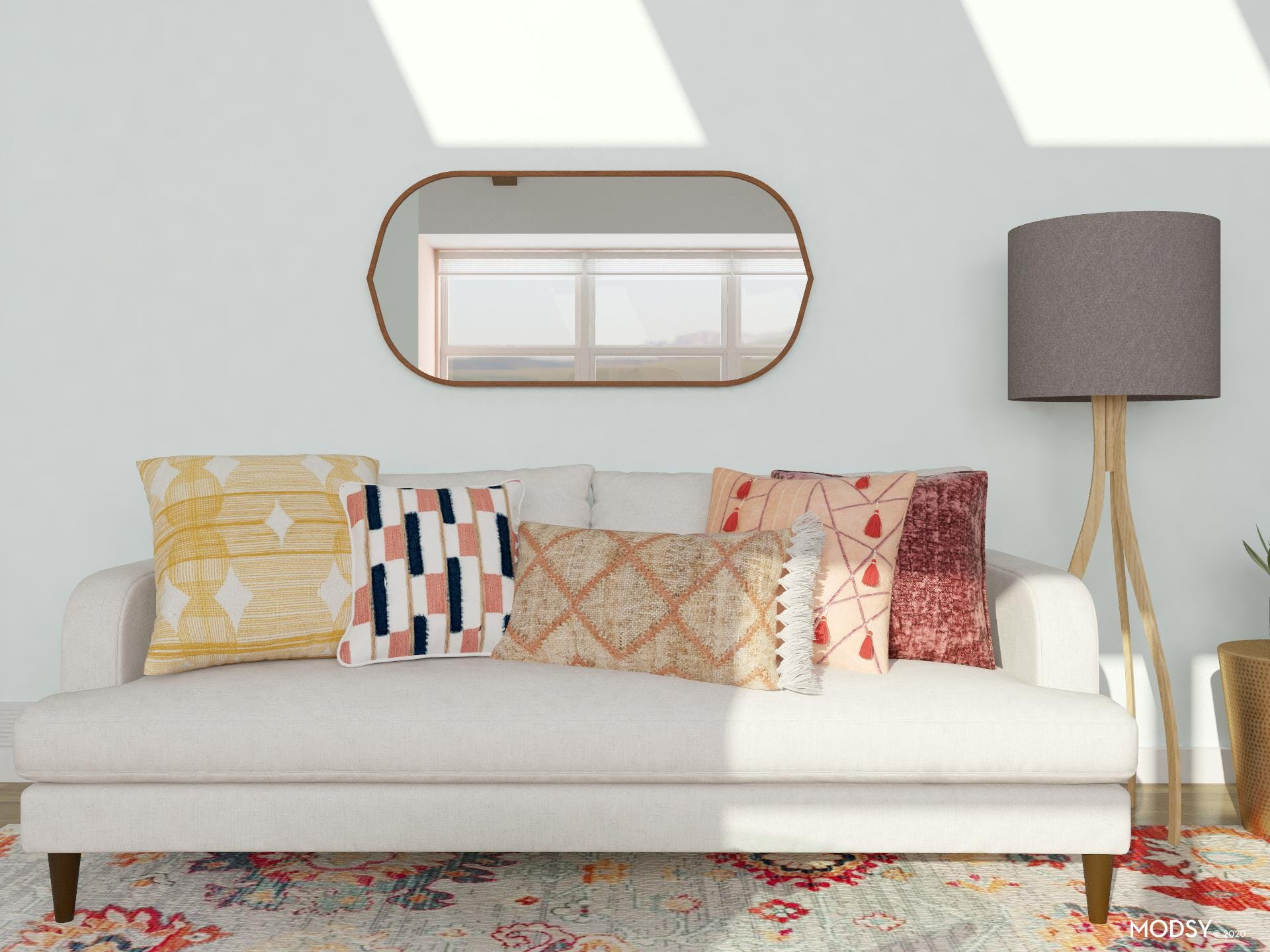Pops Of Color: Eclectic Living