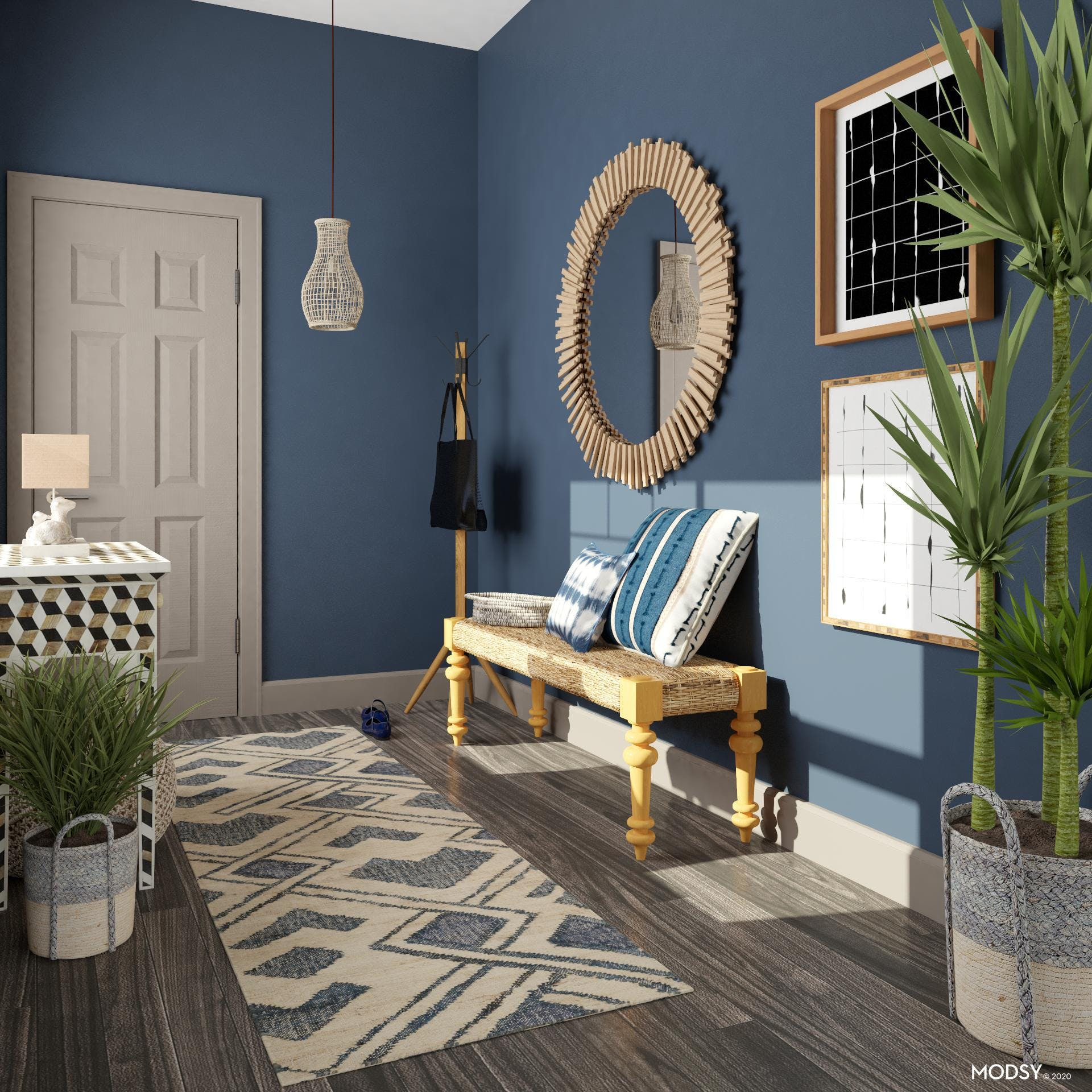 Eclectic Blue Entry: Lasting Impression