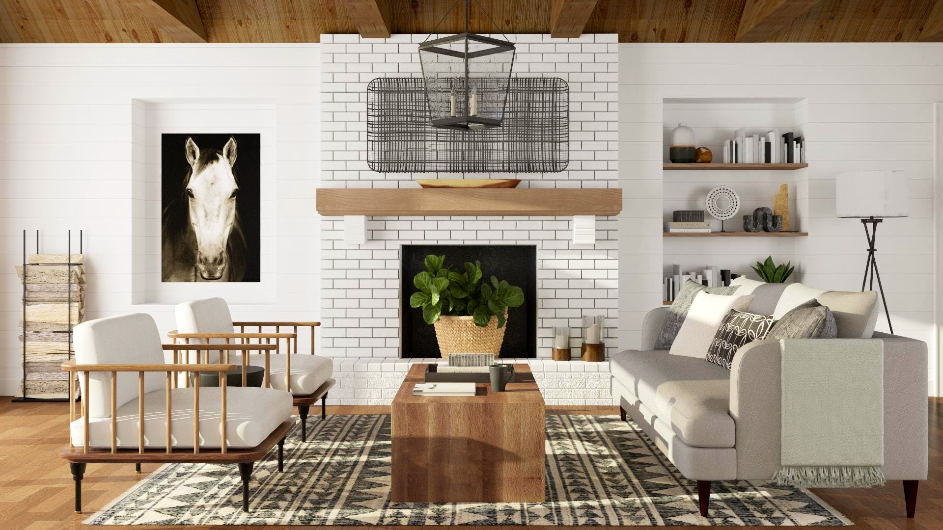 Farmhouse Style with a Modern Transitional Twist