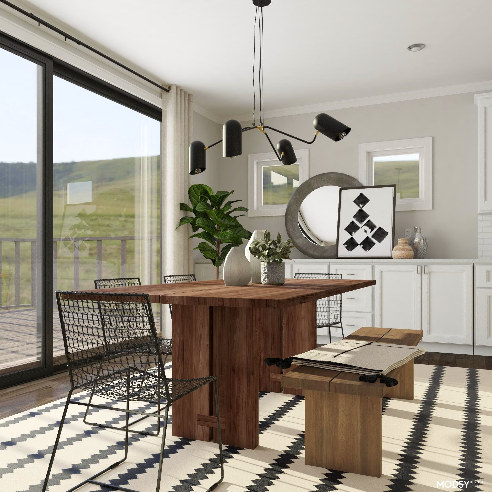 Industrial-Style Dining Room Design Ideas
