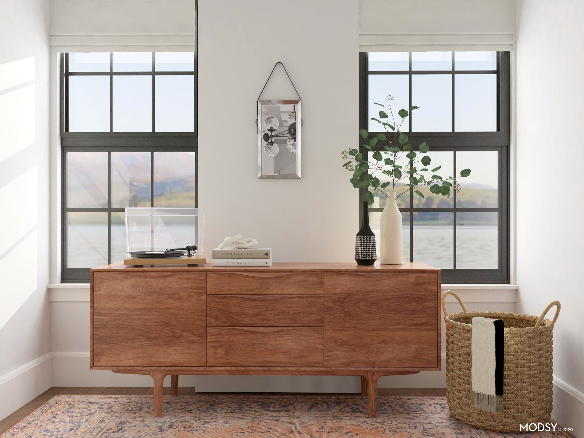 Mid-Century Sideboard Styling