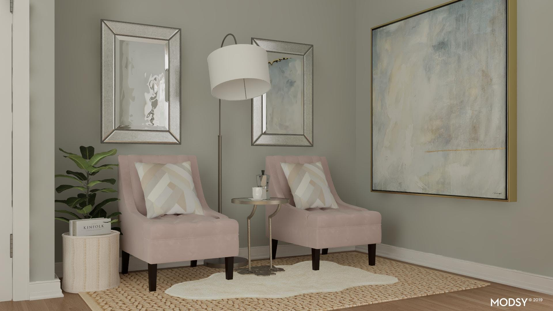 Office Seating: Transitional Pastel