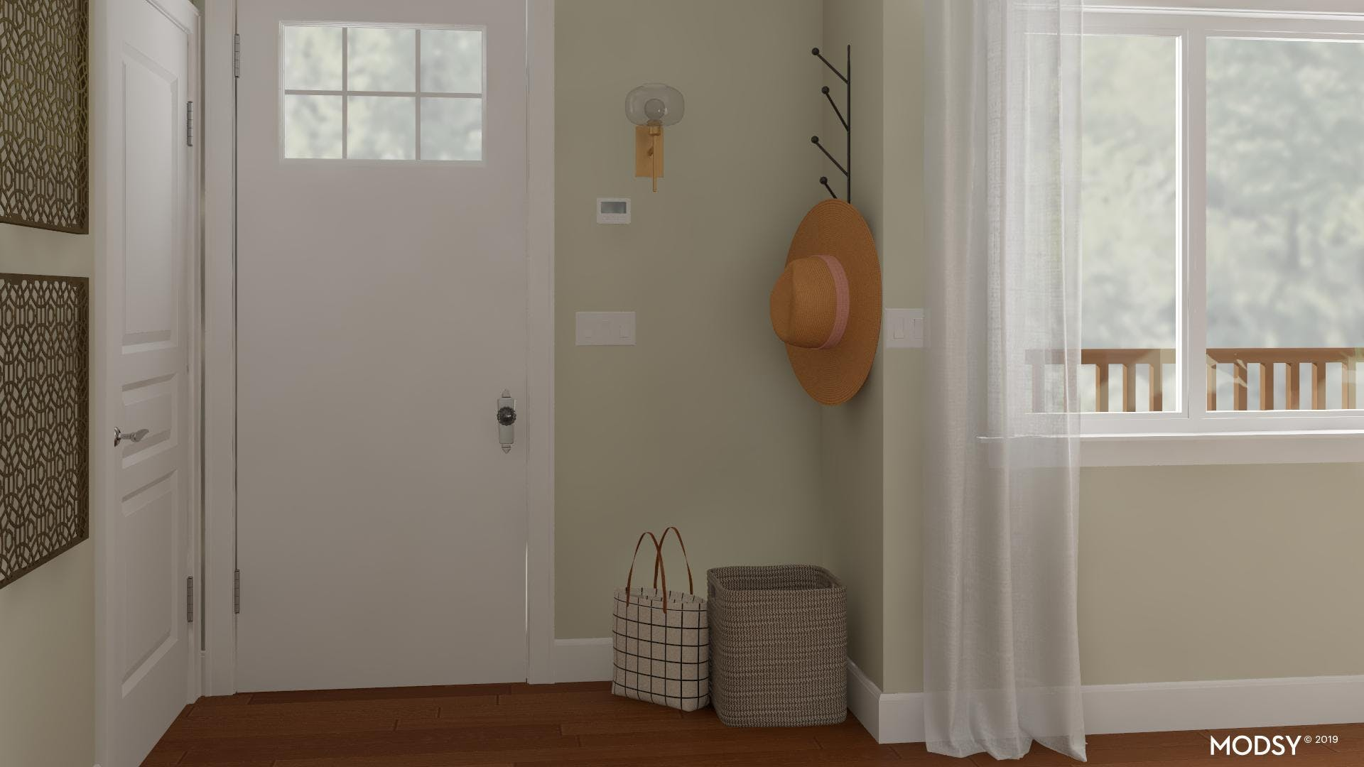 Clutter-Free Entry