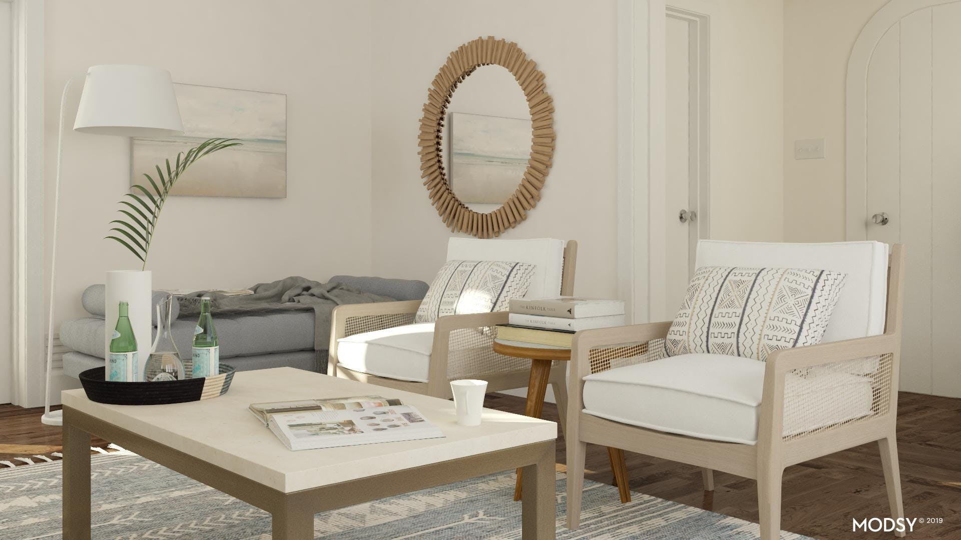 Elegant Neutral With A Touch Of Urchin