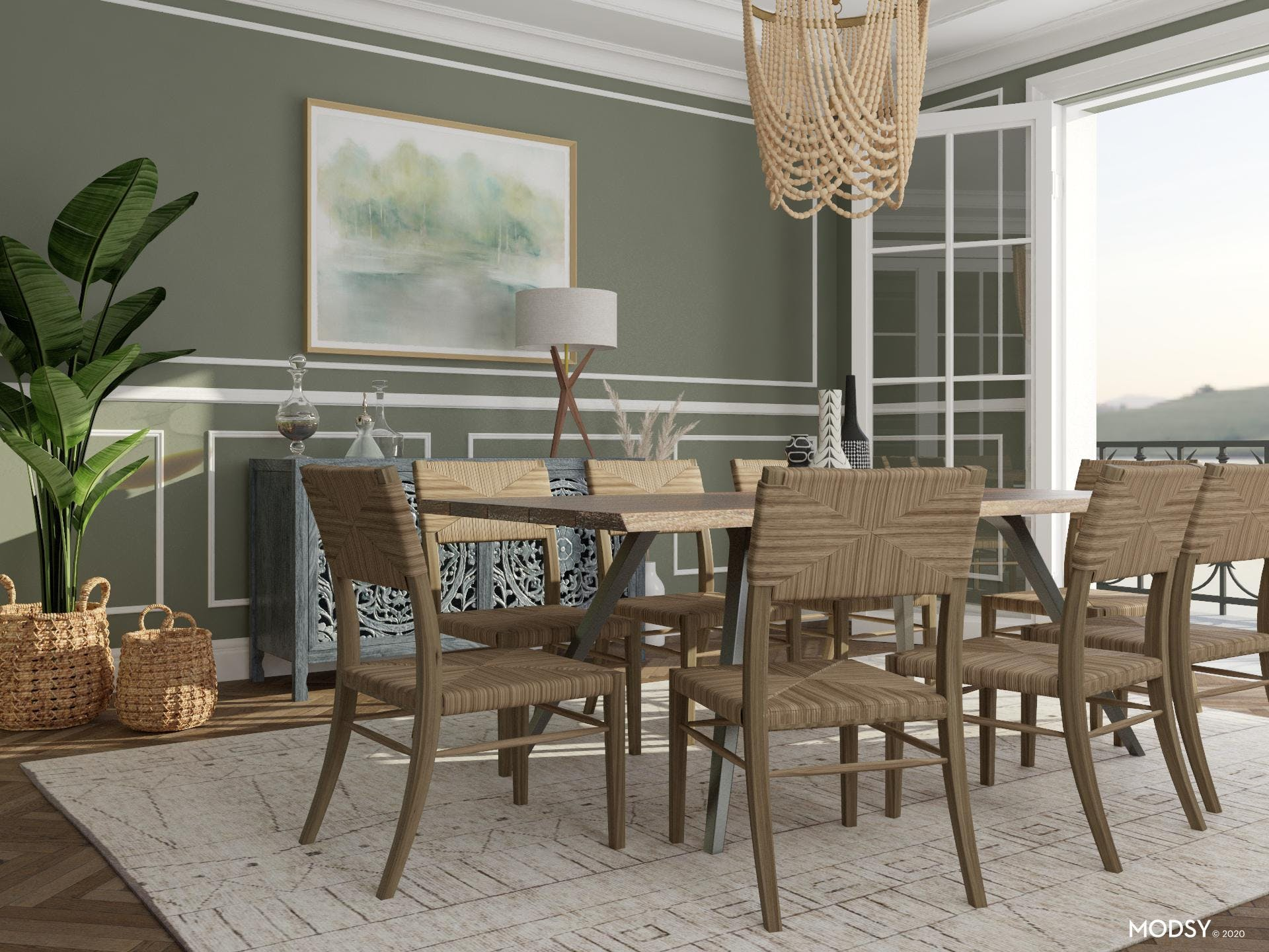 Eclectic Dining: Seeing Green