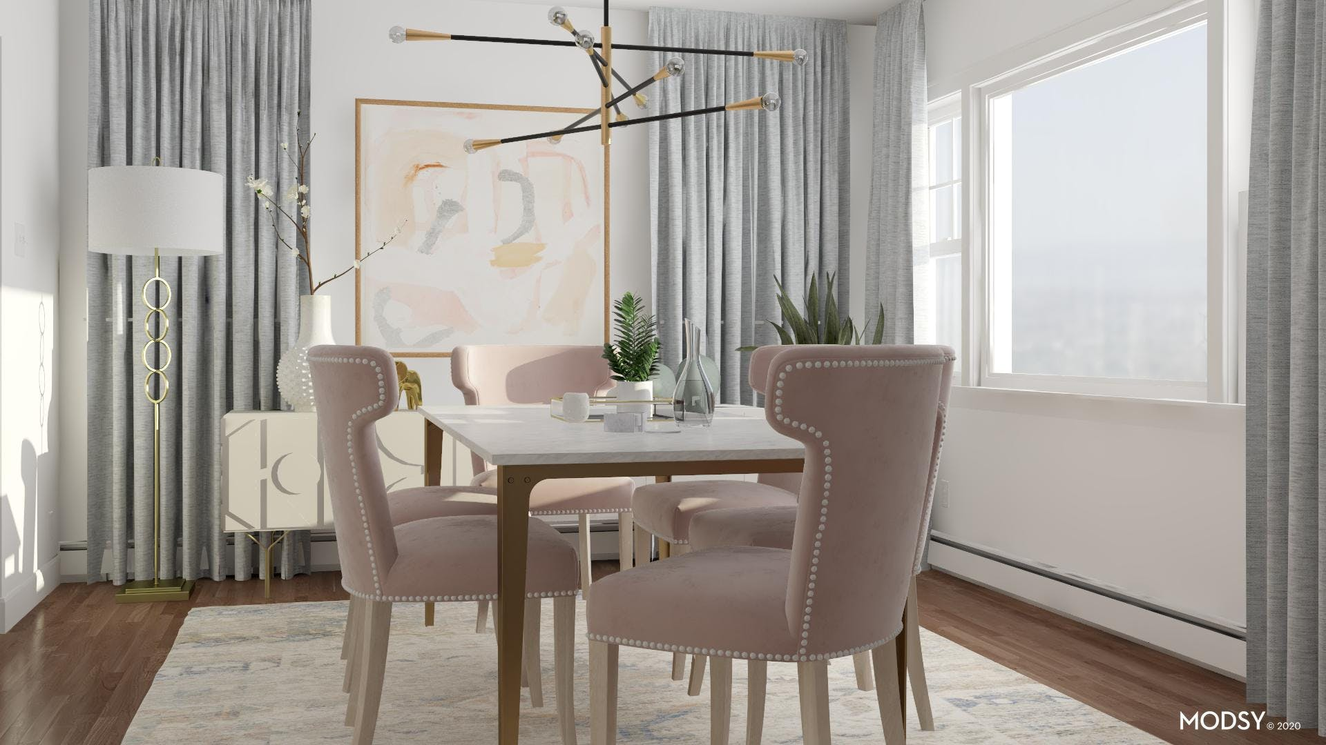 Pastels Connected With Glamour Design