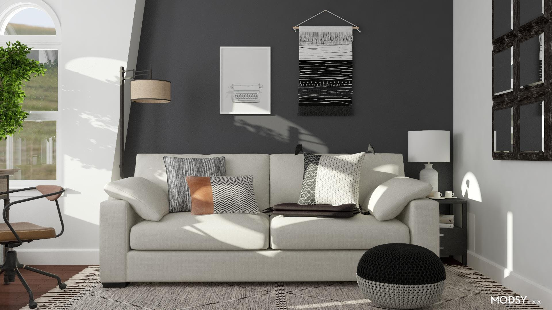 Black & White: Guest Room