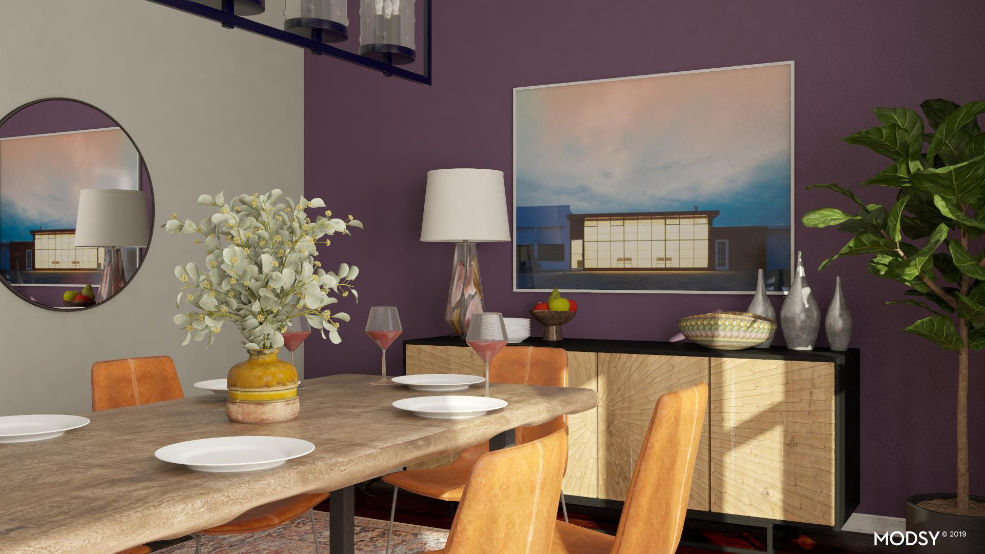 Center Of Attention: Dining Table