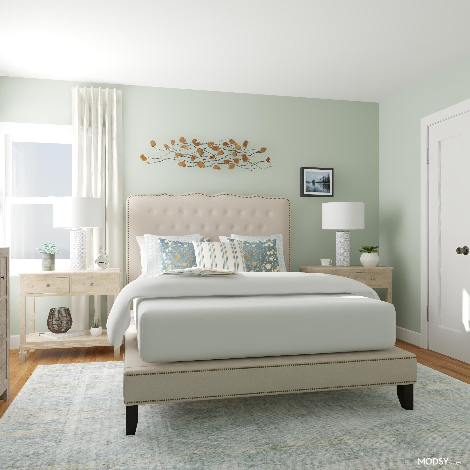 Eclectic Traditional Bedroom