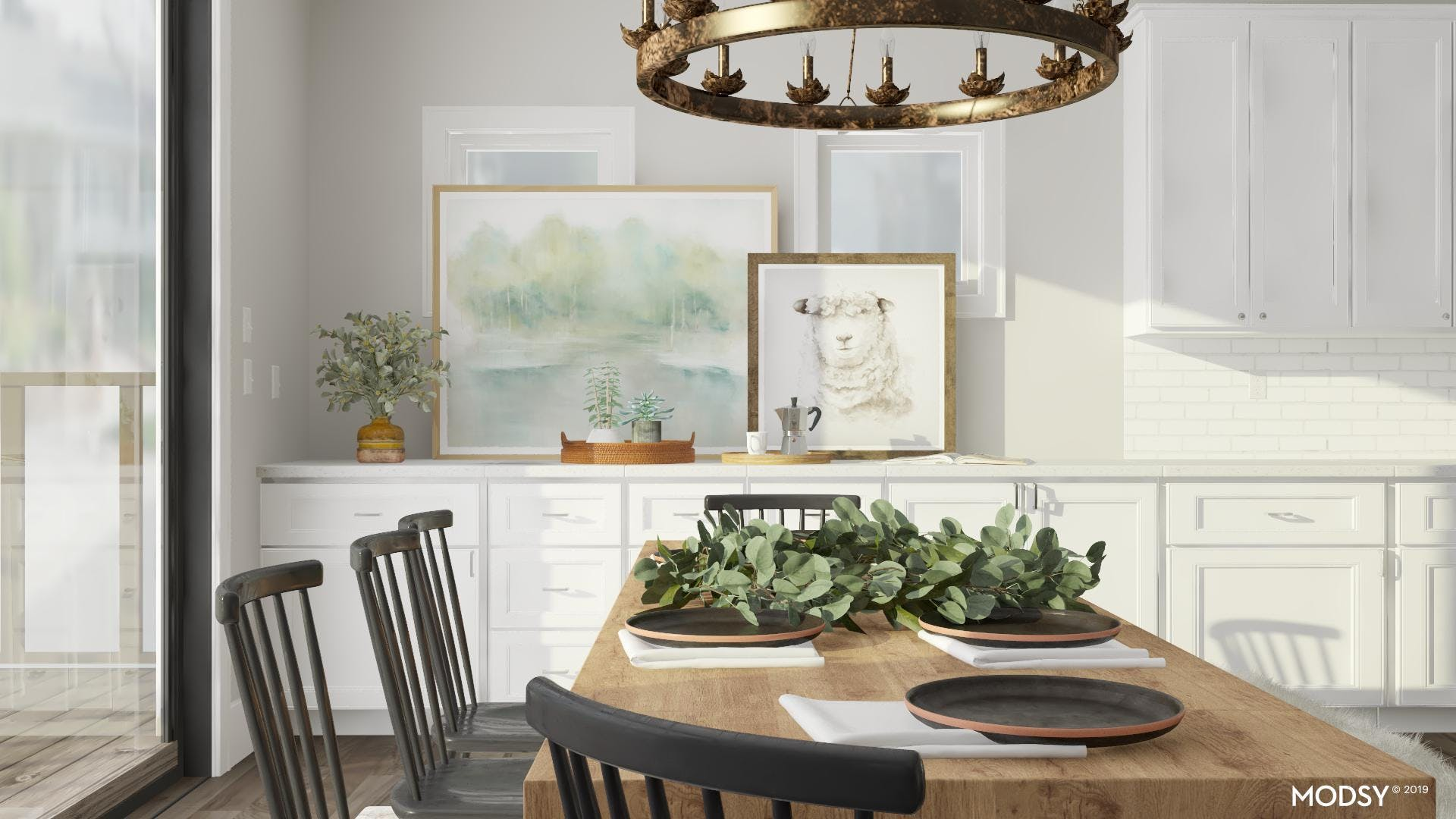 Rustic Dining Room: Bringing Everyone Together