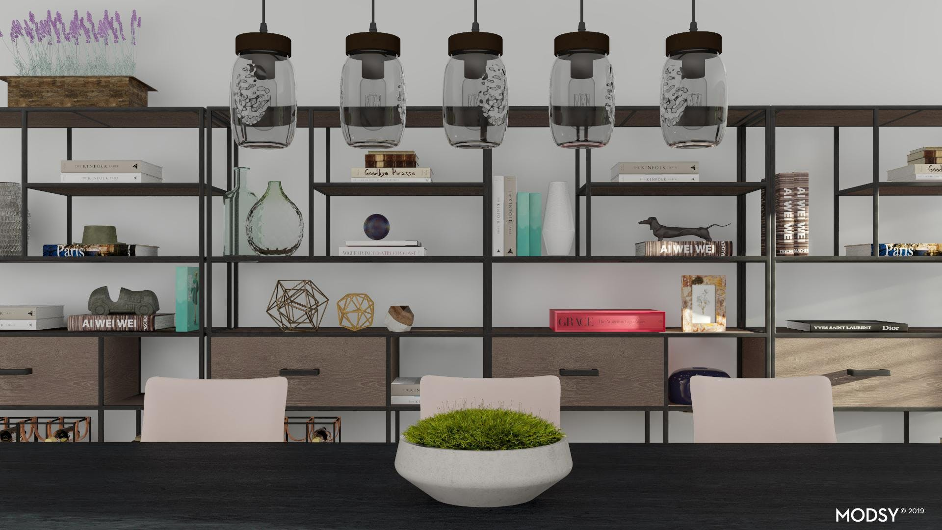 Dimensional Dining Room Gallery