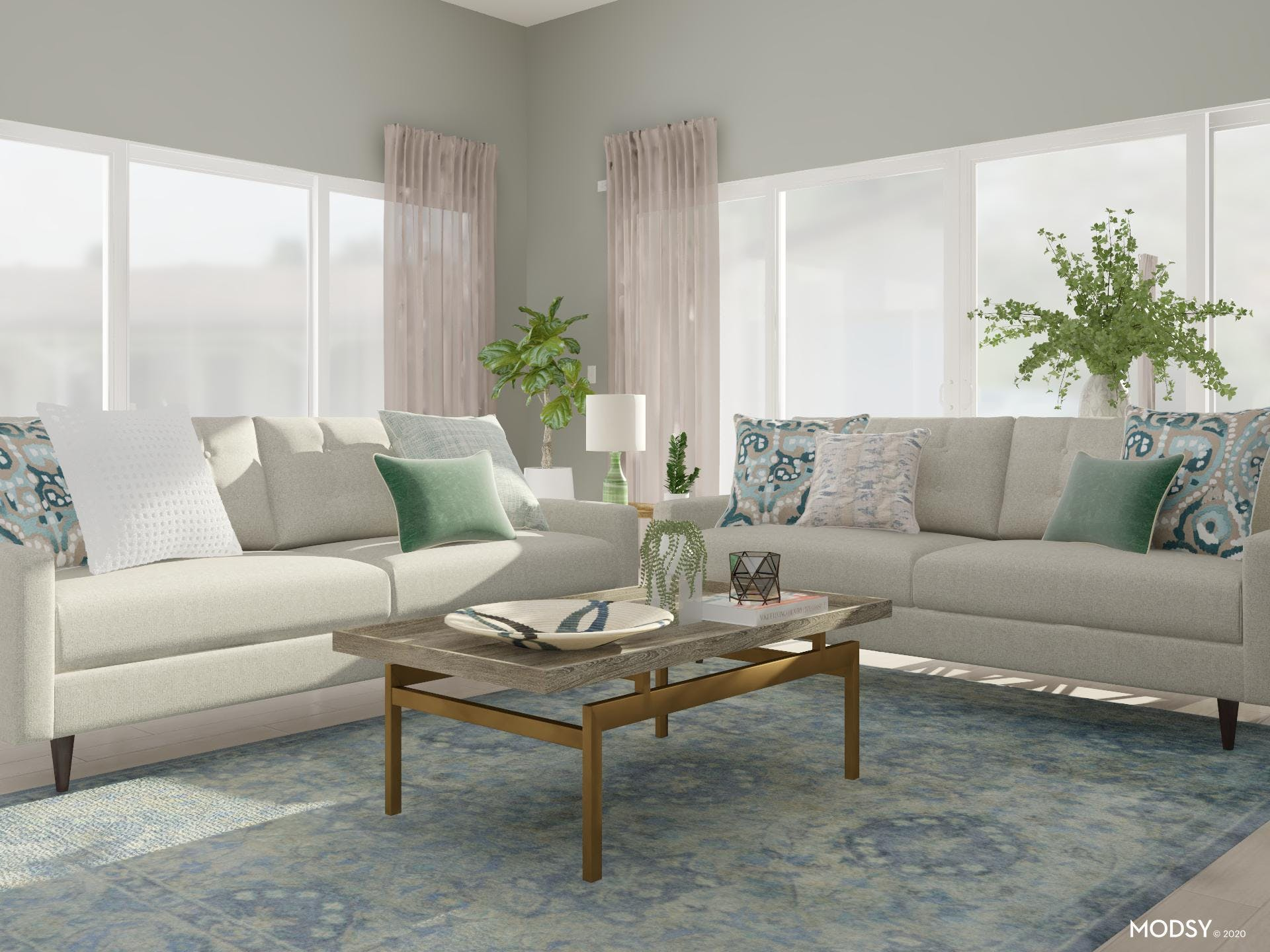 Creating a Green Living Room