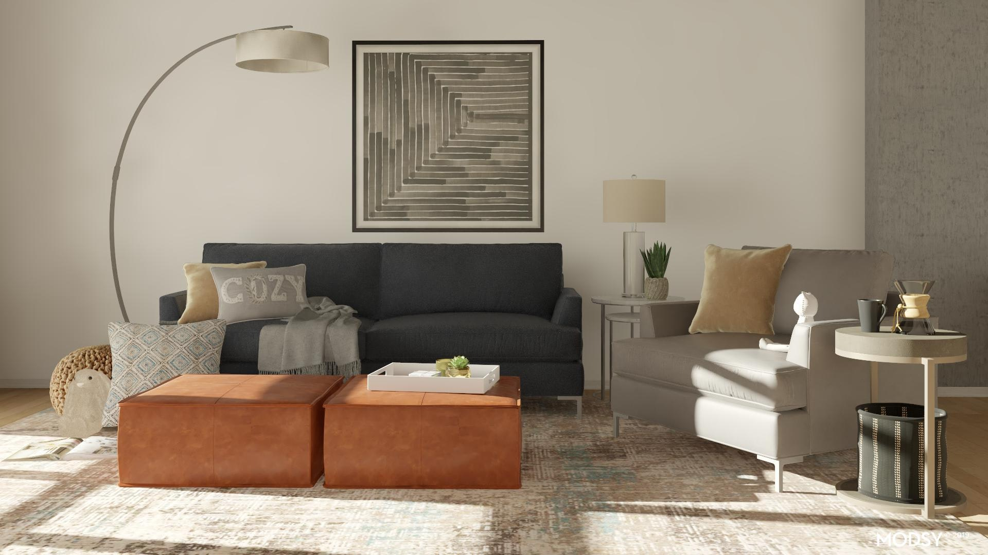 Ottoman Design Ideas And Styles From Modsy Designers