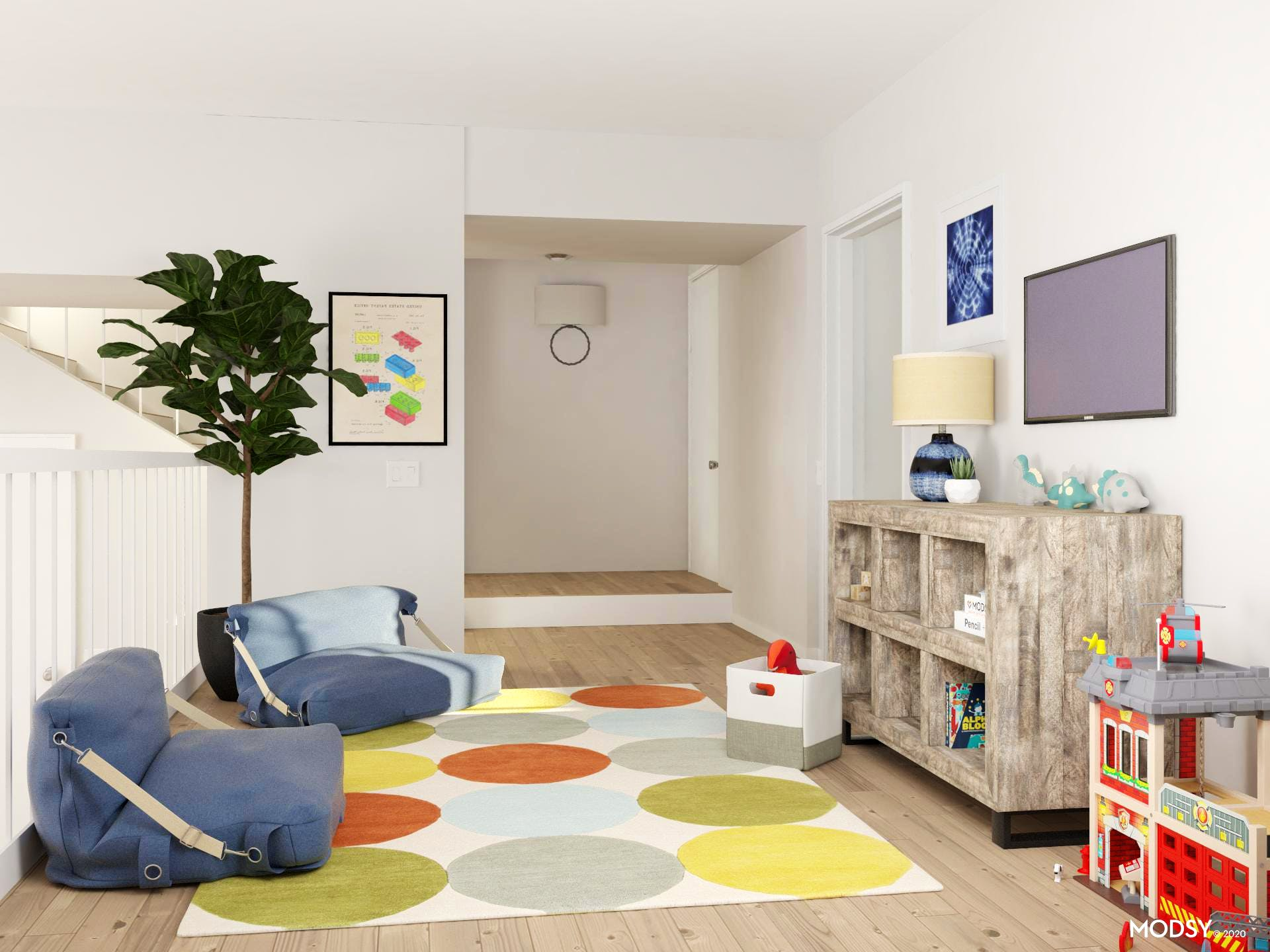 Playful Polka-Dots Playroom