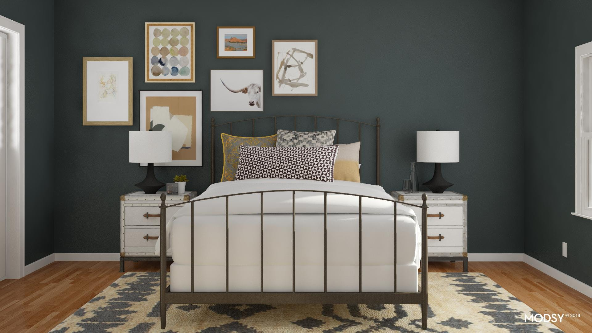How To Start A Gallery Wall In The Bedroom